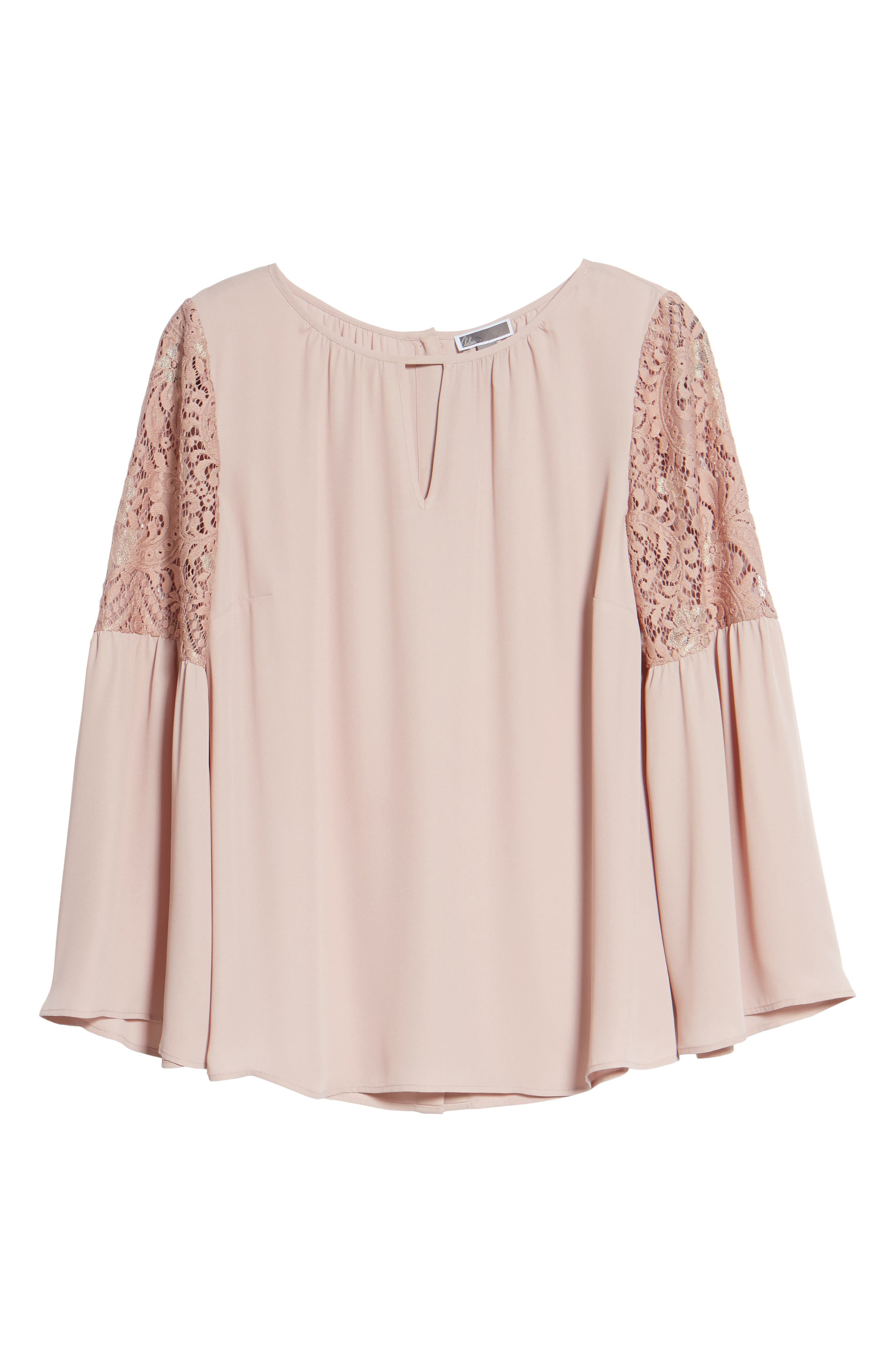 Alternate Image 6  - Chelsea28 Lace Bell Sleeve Top
