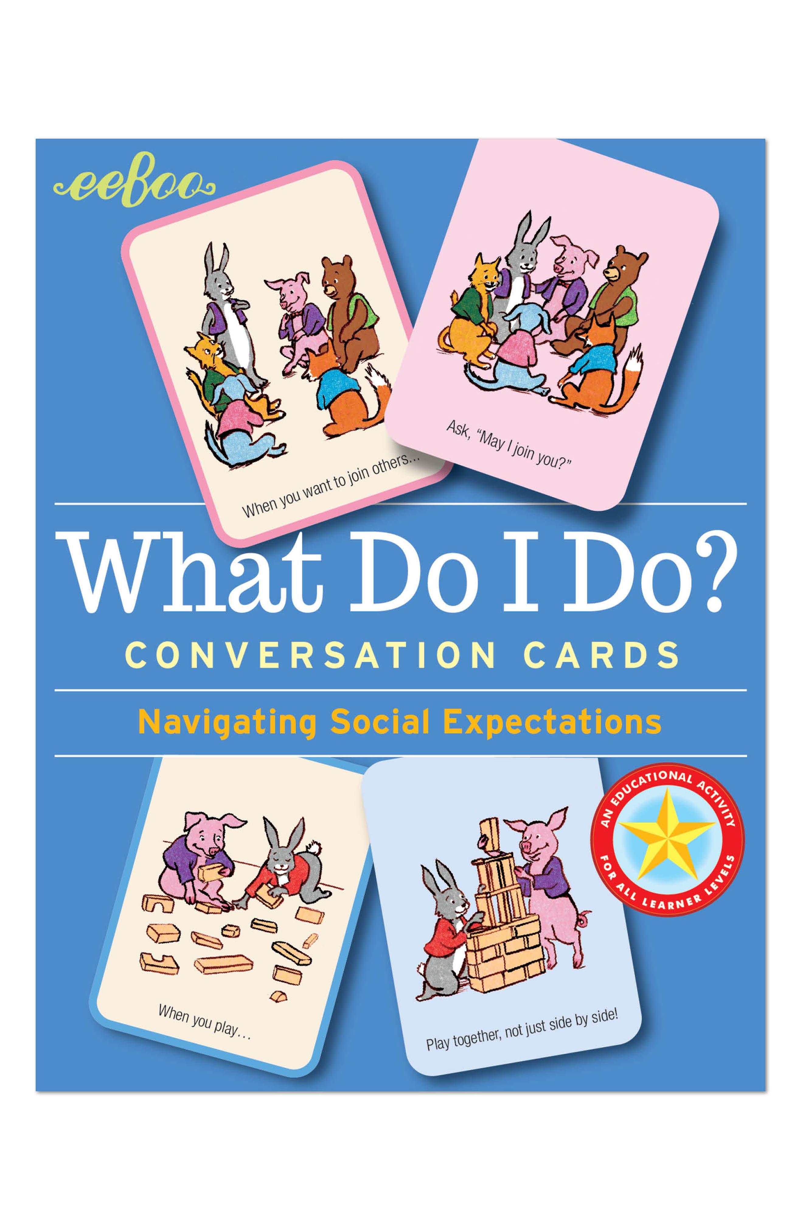 What Do I Do? 48-Piece Flash Card Set,                         Main,                         color, Multi
