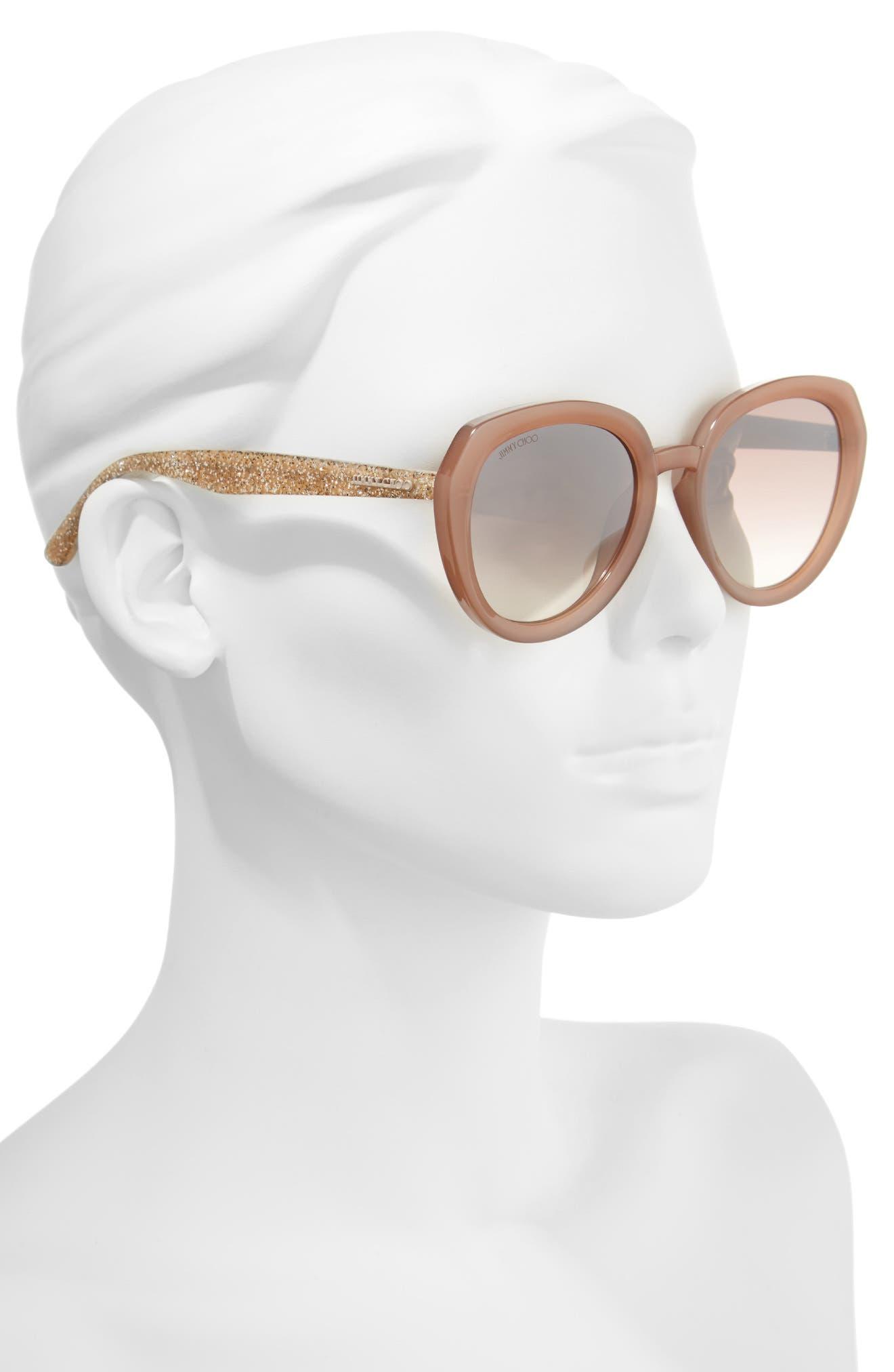 Alternate Image 2  - Jimmy Choo Maces 53mm Oversize Sunglasses