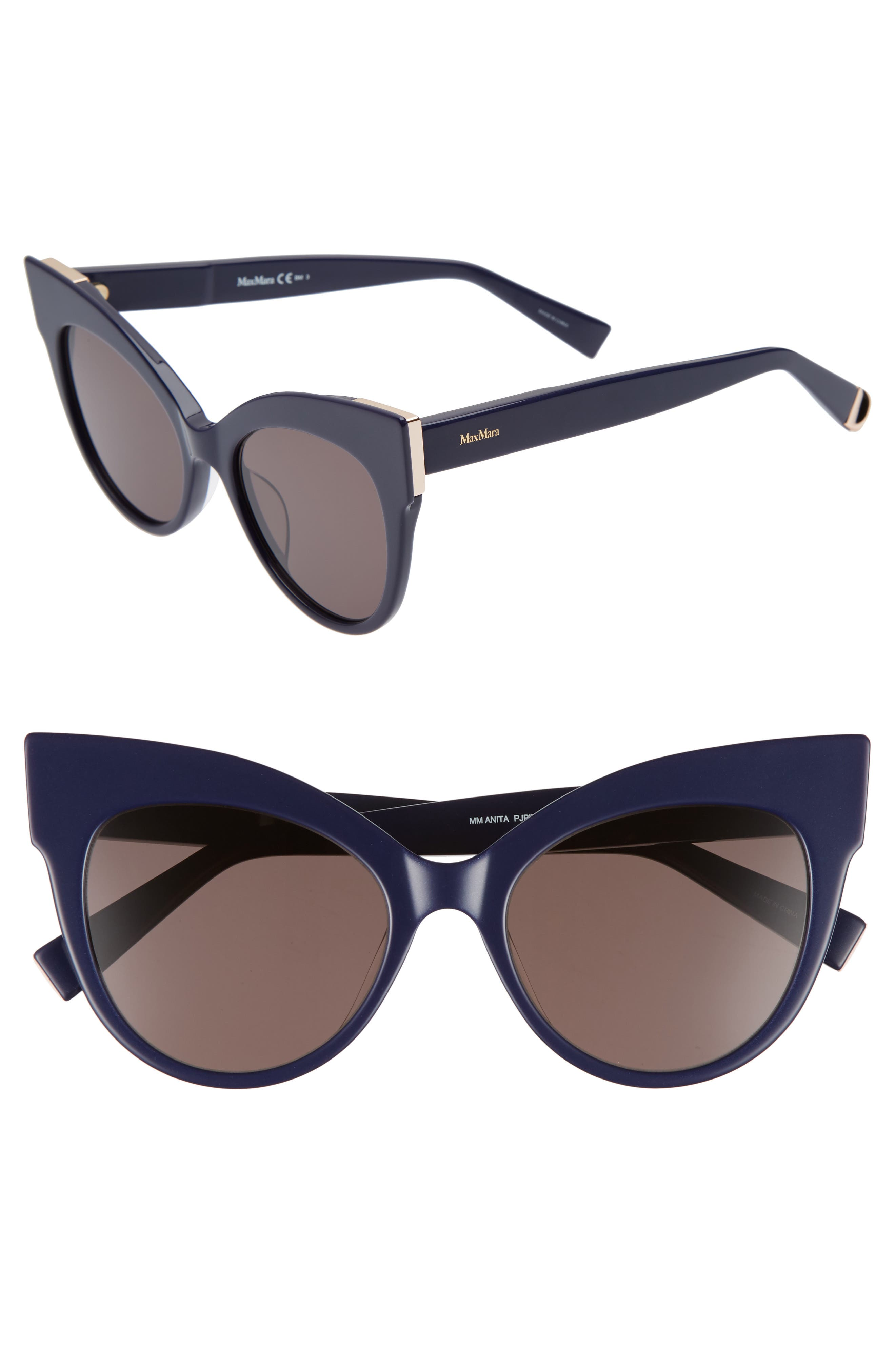 Main Image - Max Mara Anita 52mm Cat Eye Sunglasses