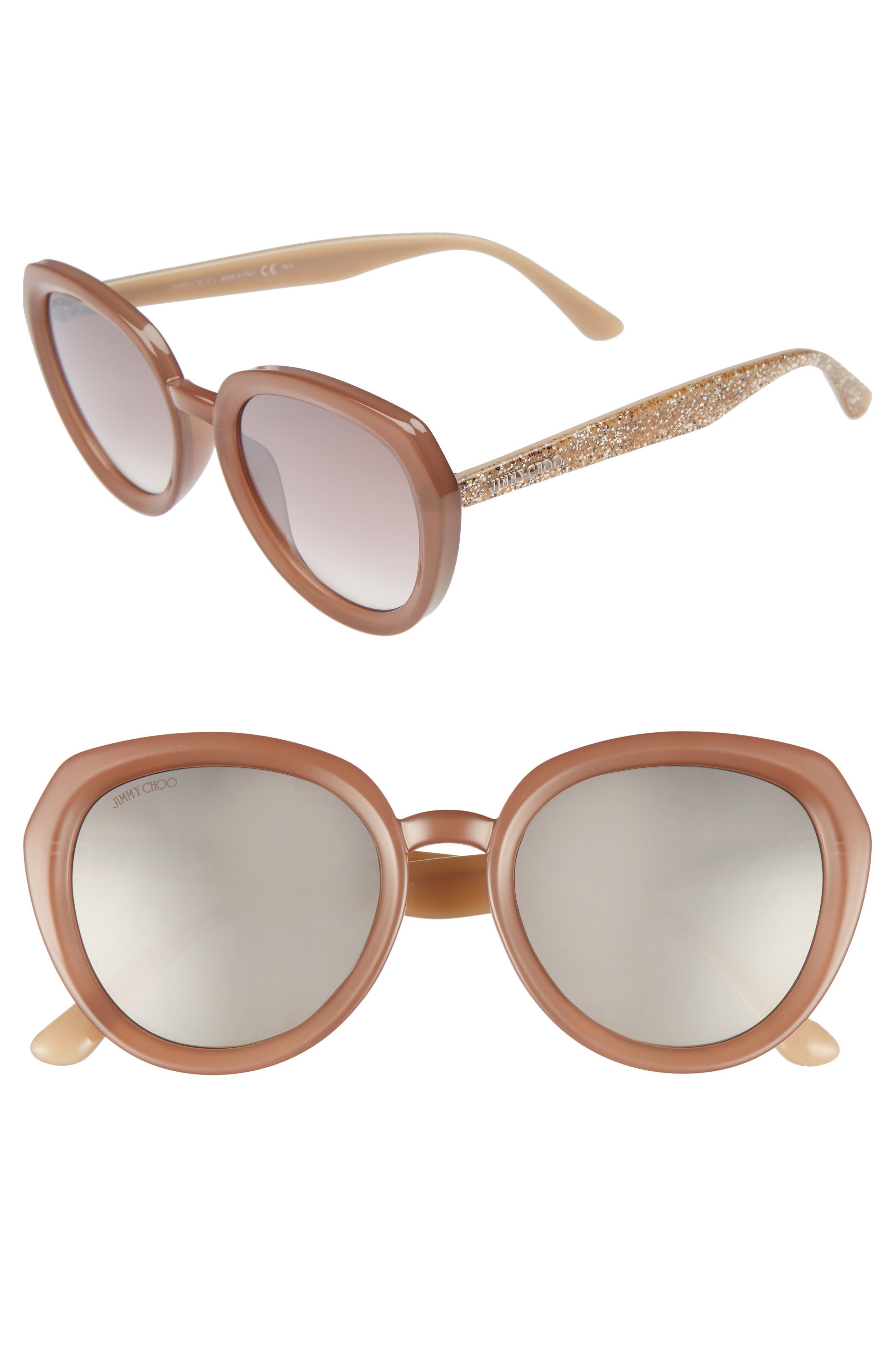 Alternate Image 1 Selected - Jimmy Choo Maces 53mm Oversize Sunglasses