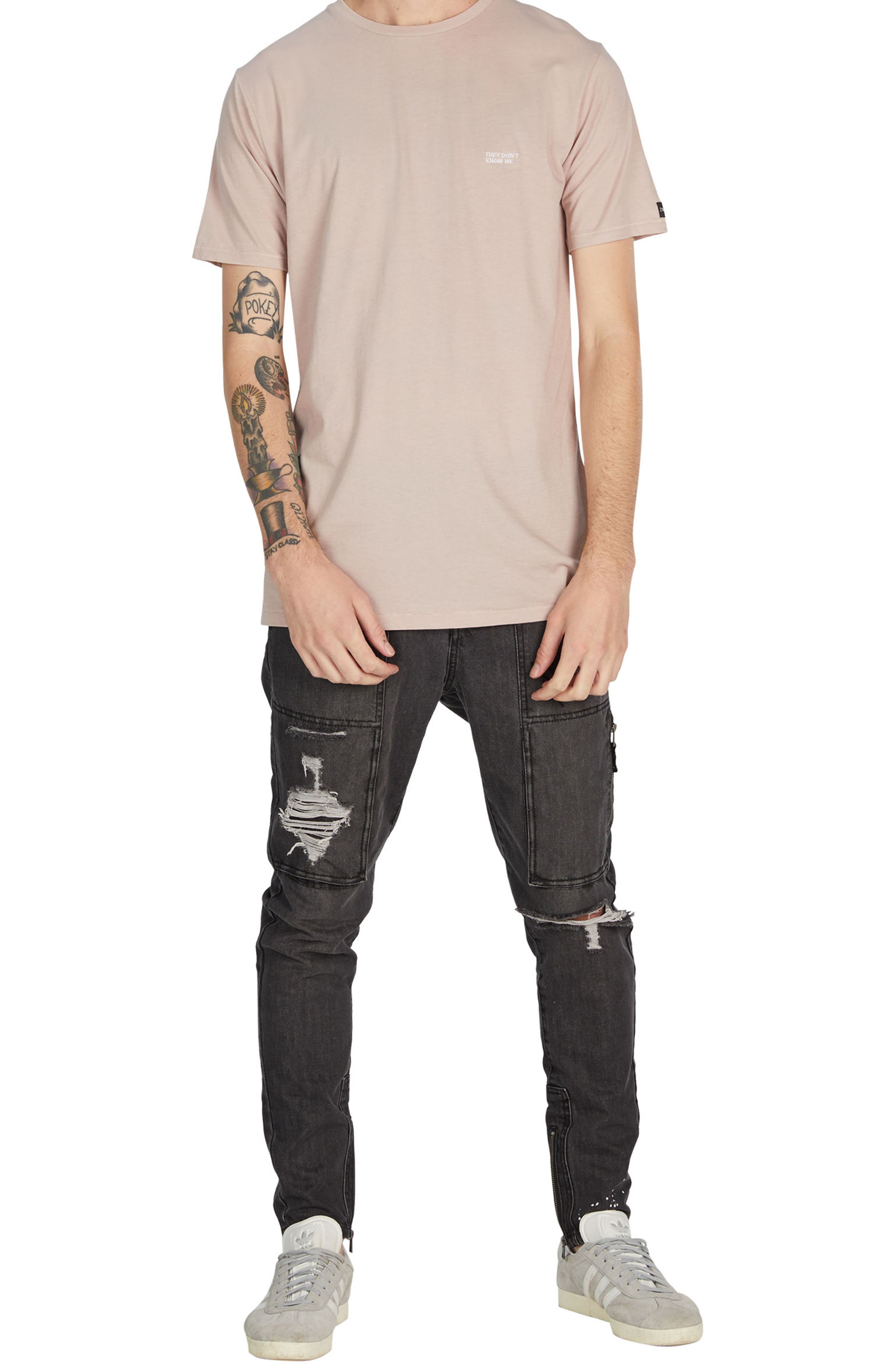 Transit Flintlock T-Shirt,                             Alternate thumbnail 5, color,                             Quartz