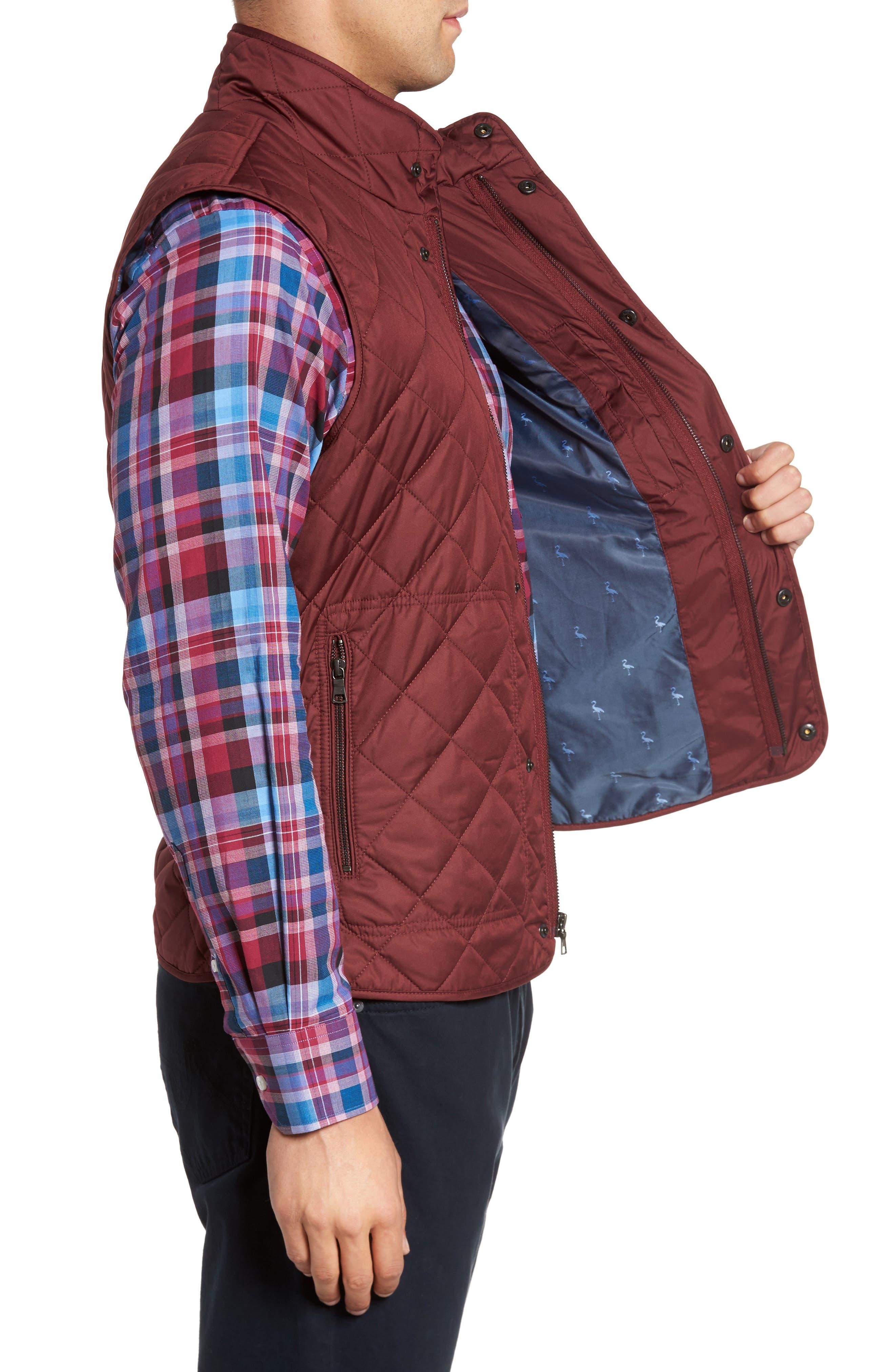 Alternate Image 3  - TailorByrd Hessmer Quilted Vest