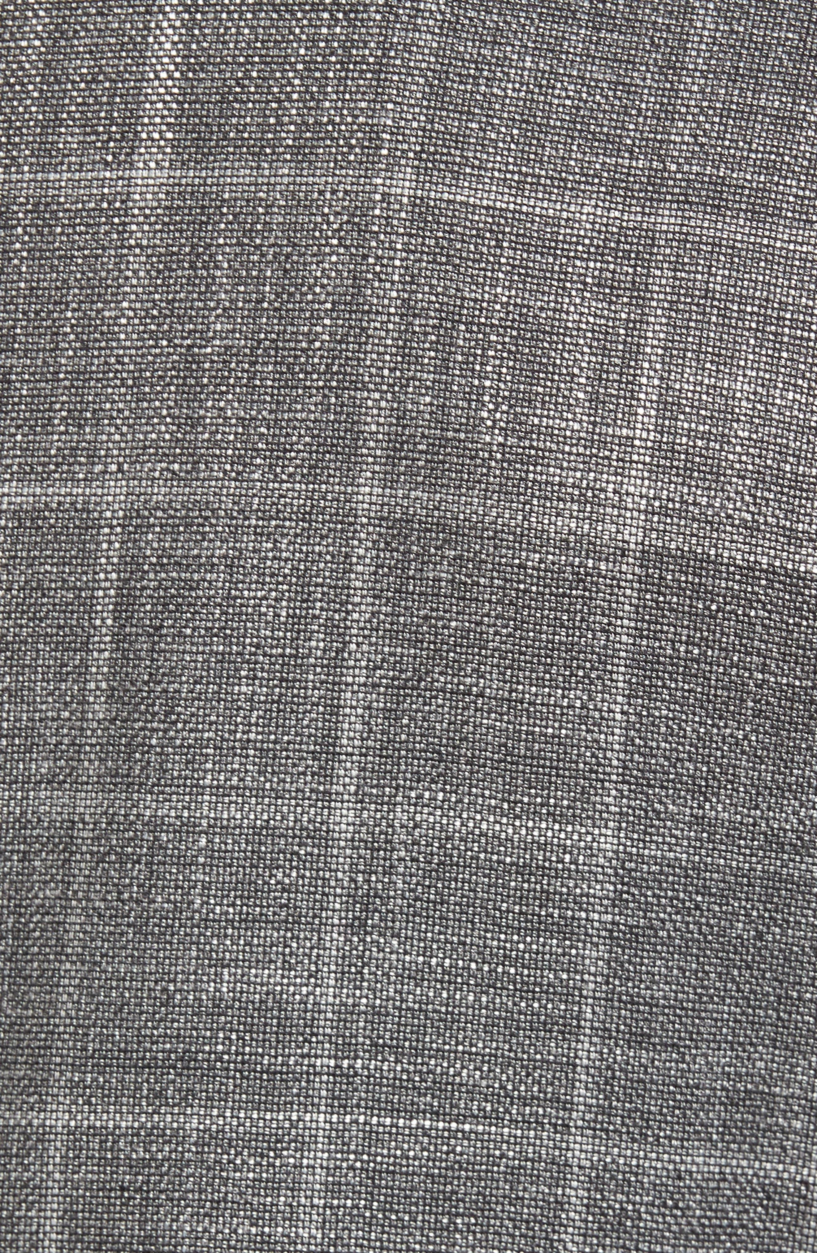 T-Naiden Trim Fit Windowpane Sport Coat,                             Alternate thumbnail 5, color,                             Medium Grey
