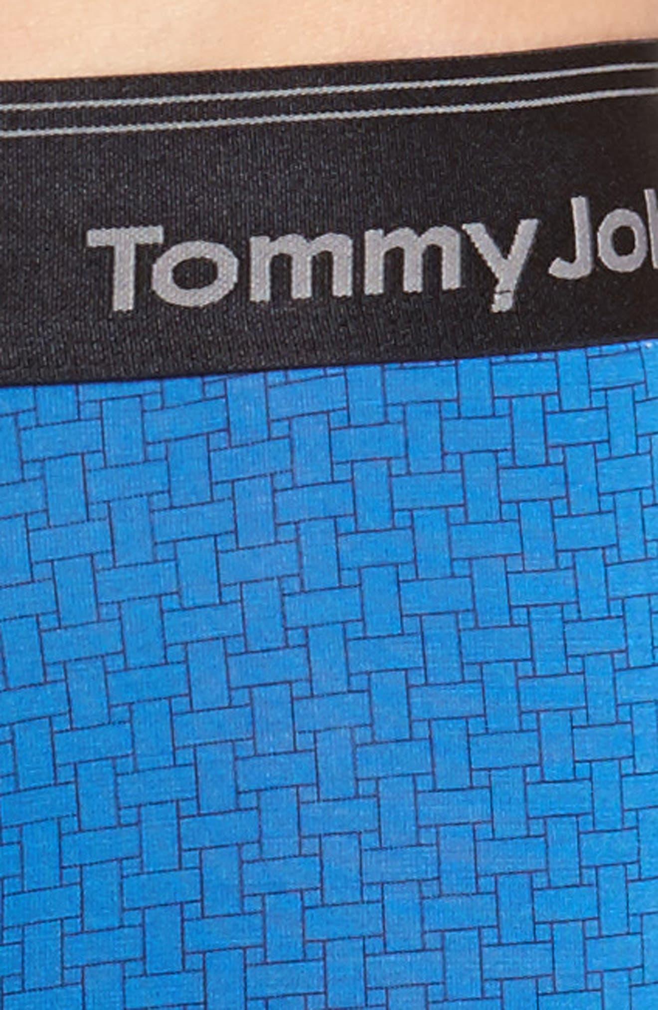 Alternate Image 4  - Tommy John Second Skin Hawthorne Print Trunks