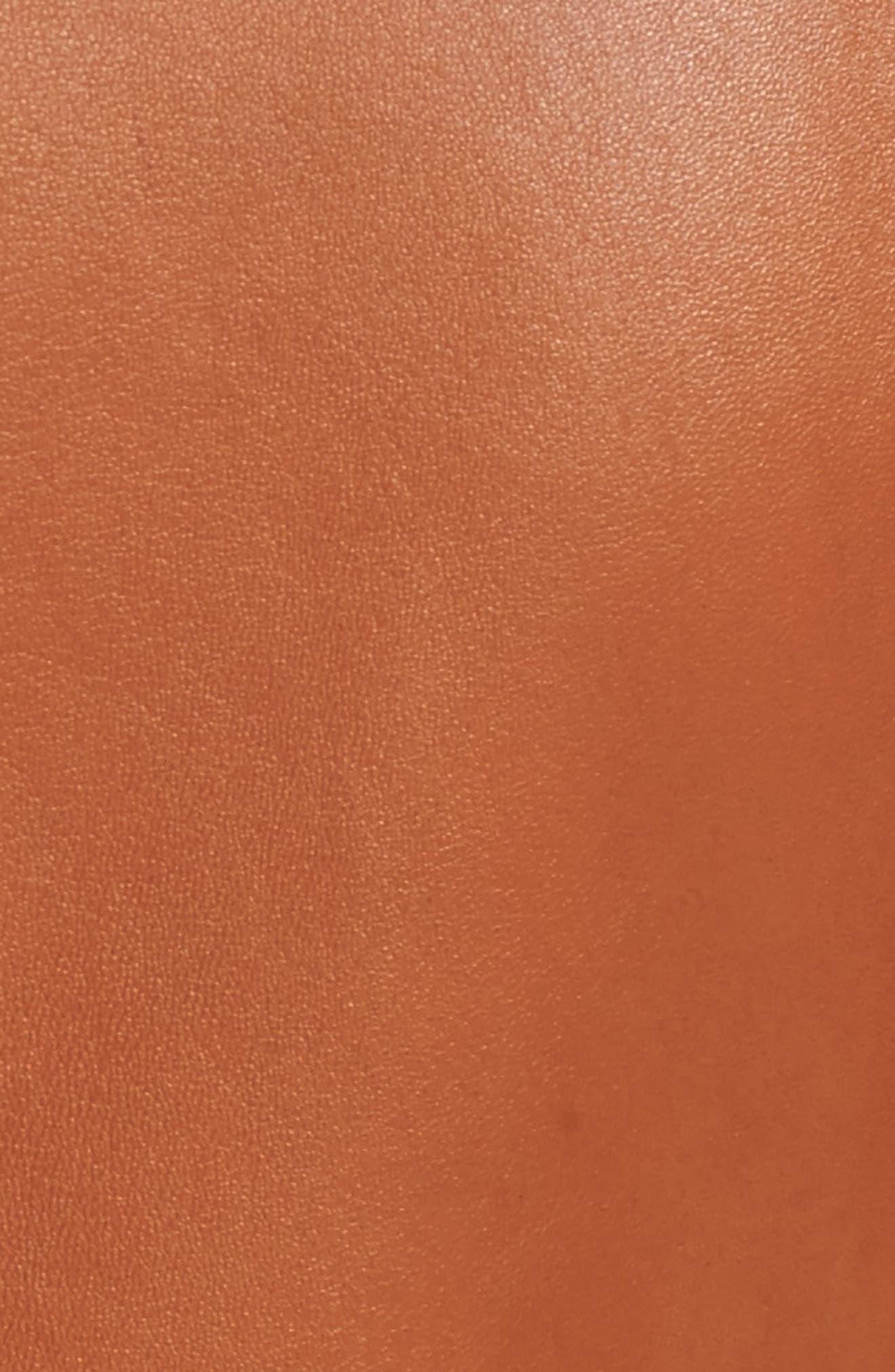 Alternate Image 5  - BOSS Sabiza Leather Jacket
