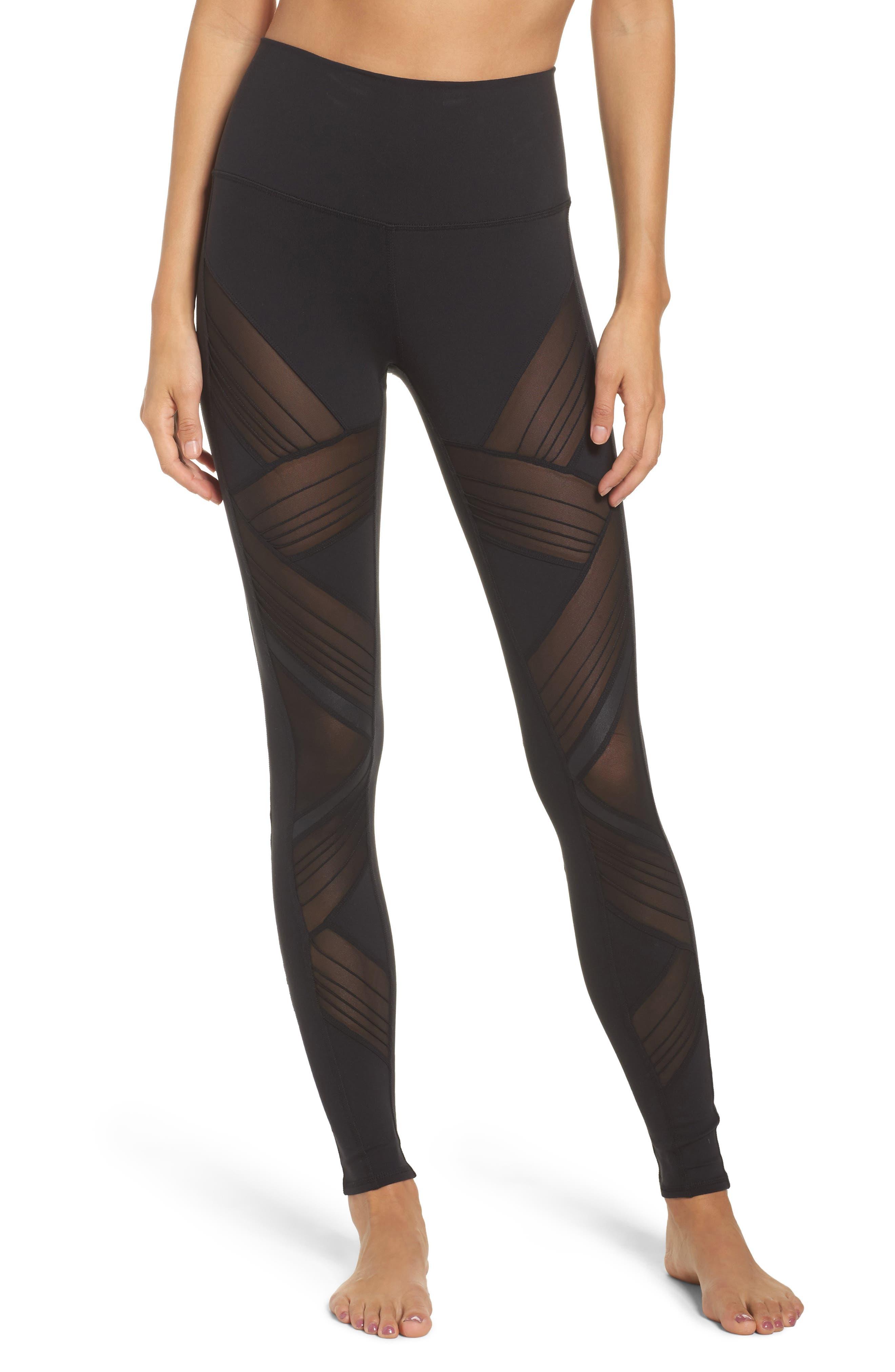 Ultimate High Waist Leggings,                         Main,                         color, Black