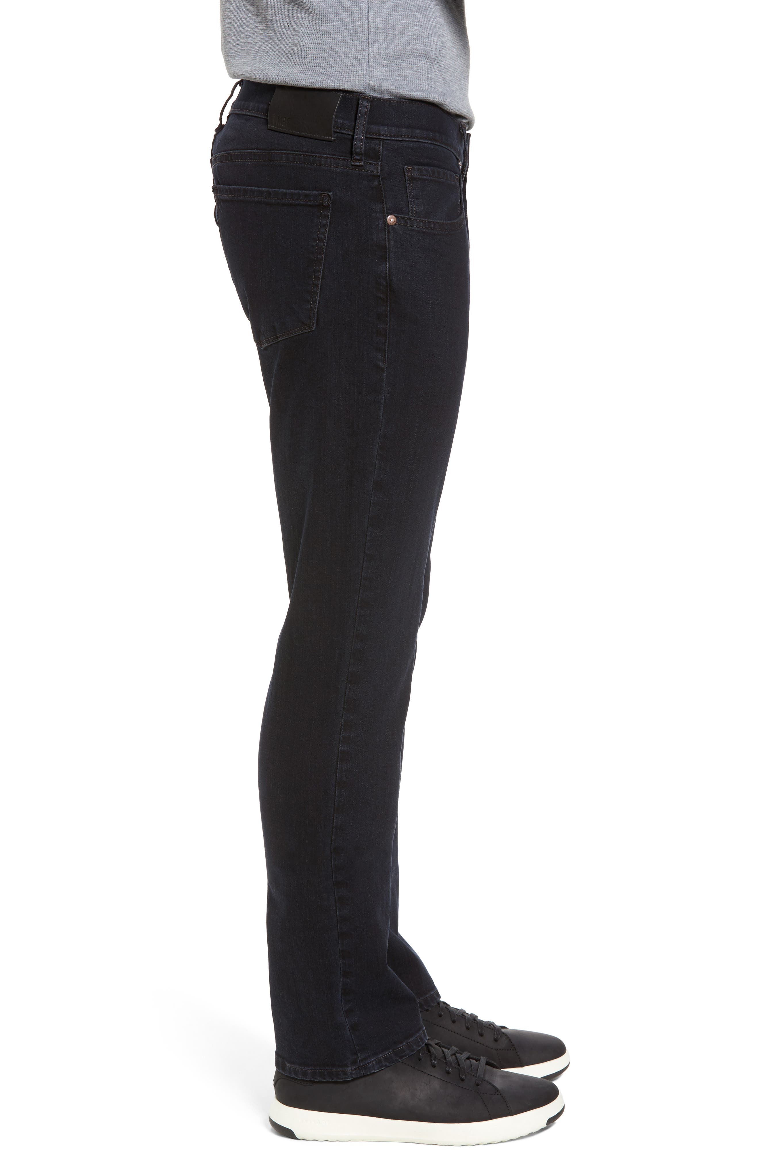 Alternate Image 3  - PAIGE Normandie Straight Leg Jeans (Tommy)