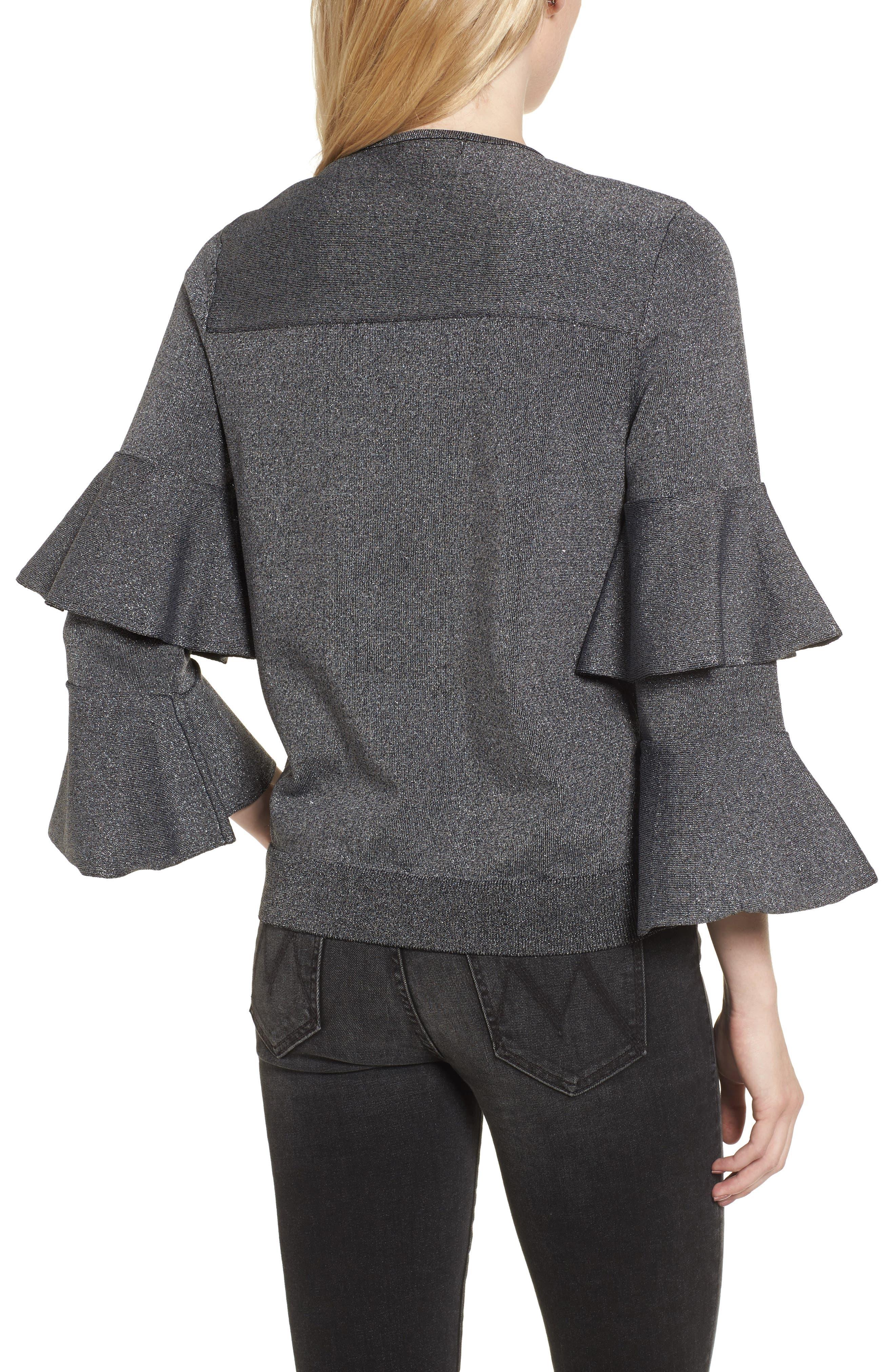Alternate Image 2  - Parker Jayla Ruffle Sleeve Sweater