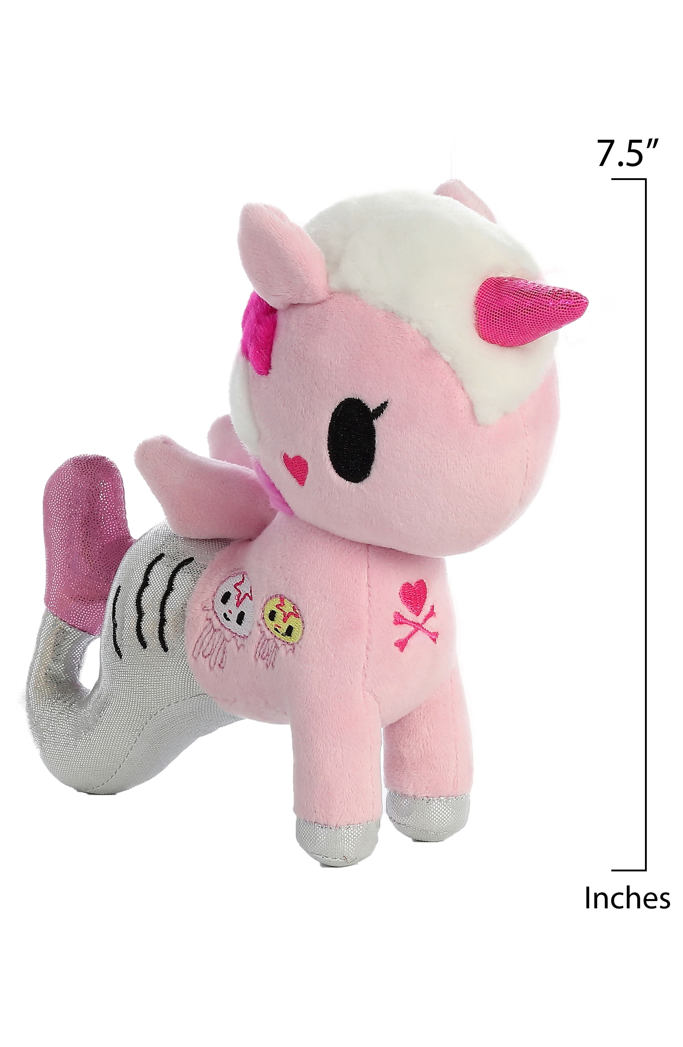 x tokidoki Gelatina Mermicorno Stuffed Animal,                             Alternate thumbnail 3, color,                             Pink