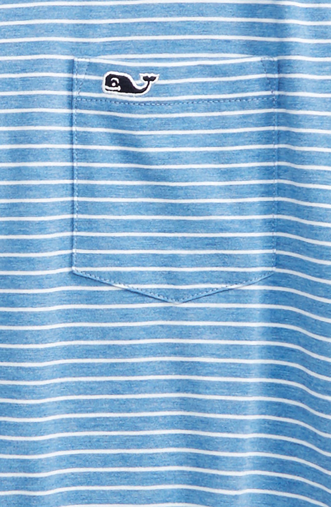 Feeder Stripe Jersey Polo,                             Alternate thumbnail 2, color,                             Dockside Blue