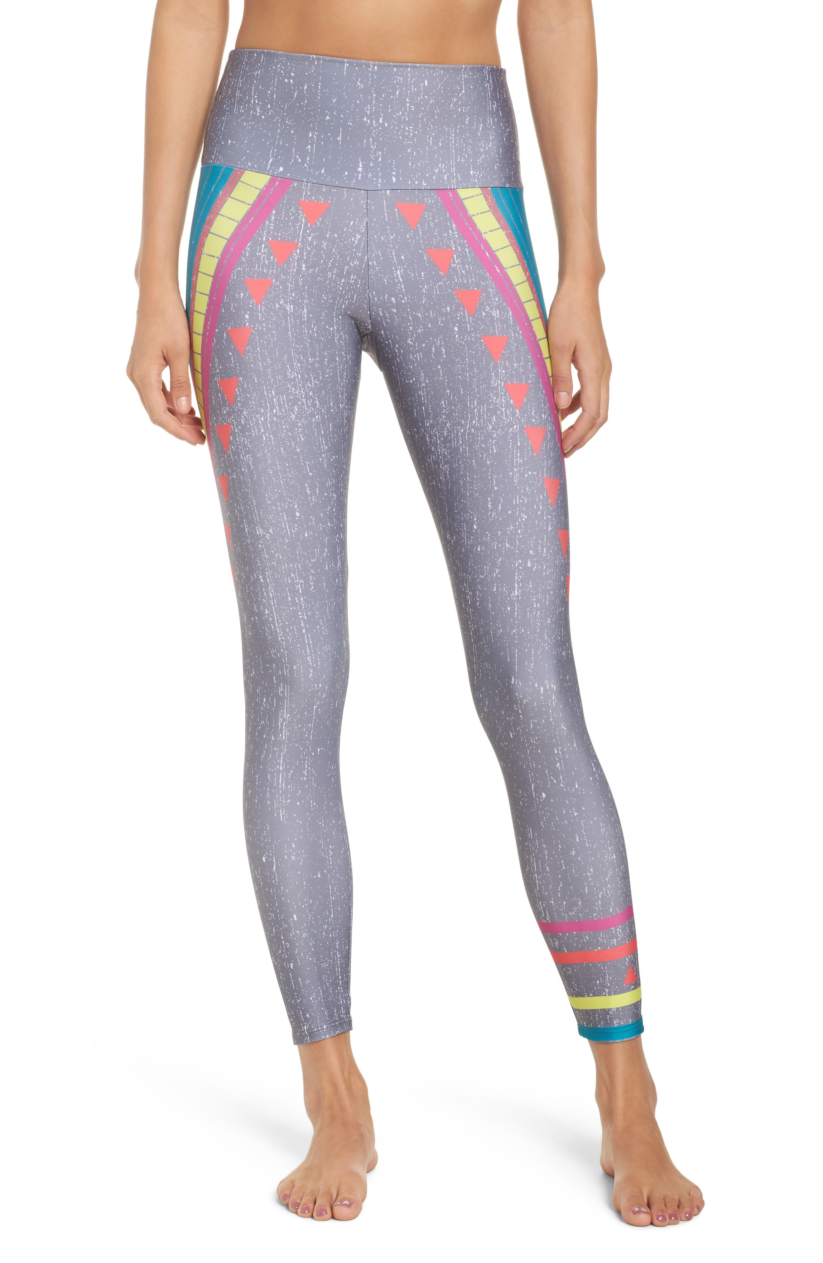 Alternate Image 1 Selected - Onzie High Waist Graphic Leggings