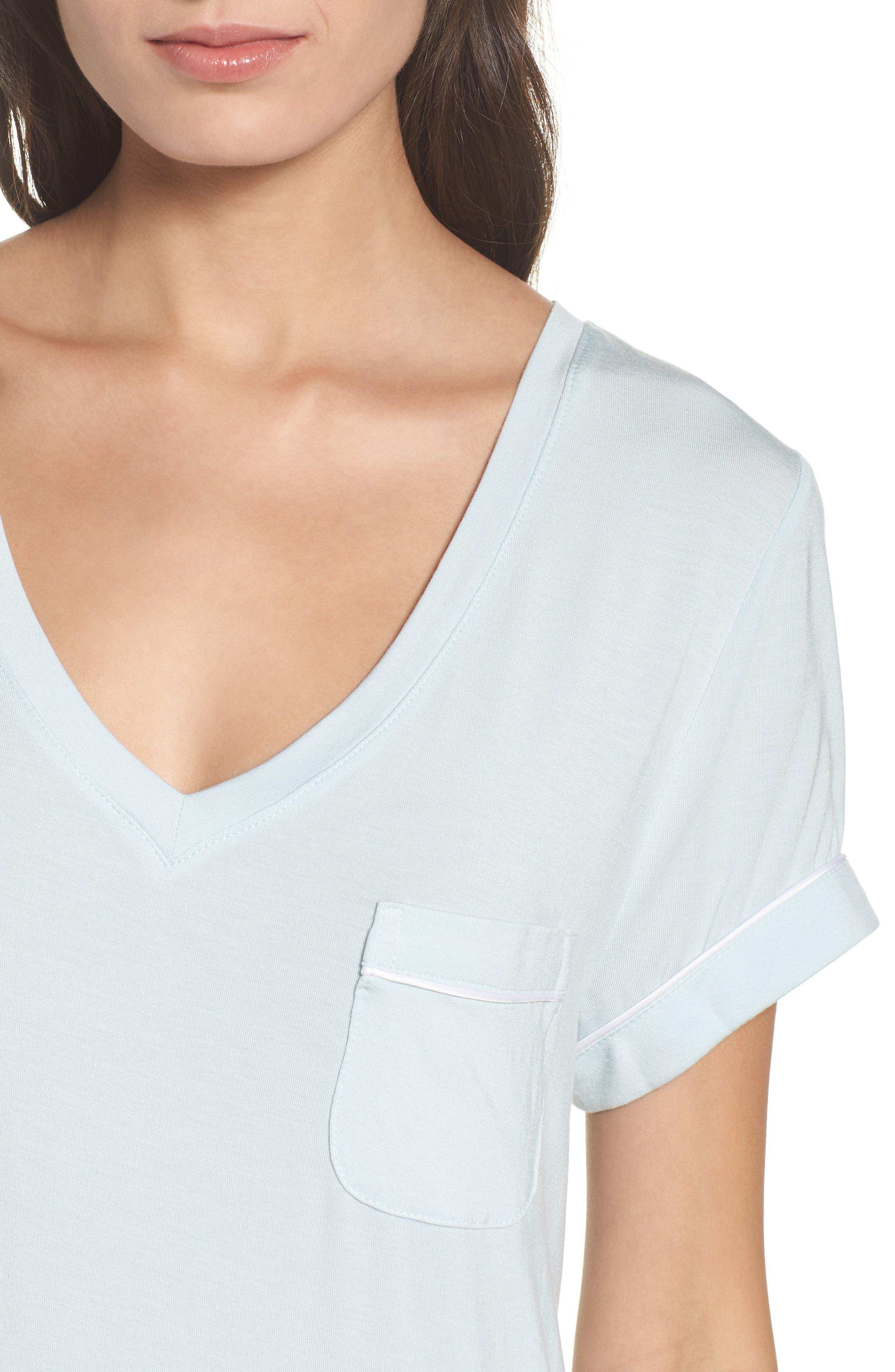Alternate Image 4  - Nordstrom Lingerie Moonlight Sleep Shirt