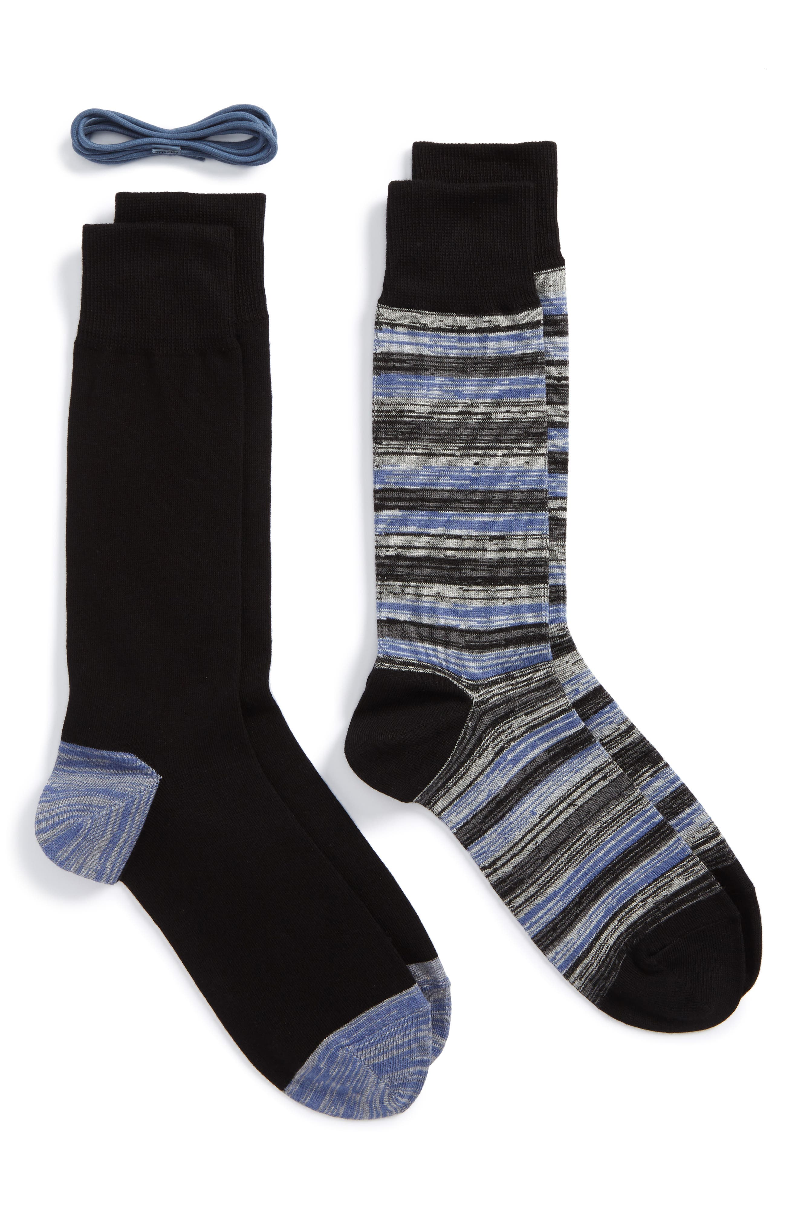 Alternate Image 1 Selected - Cole Haan 2-Pack Socks & Laces Set ($31.95 Value)