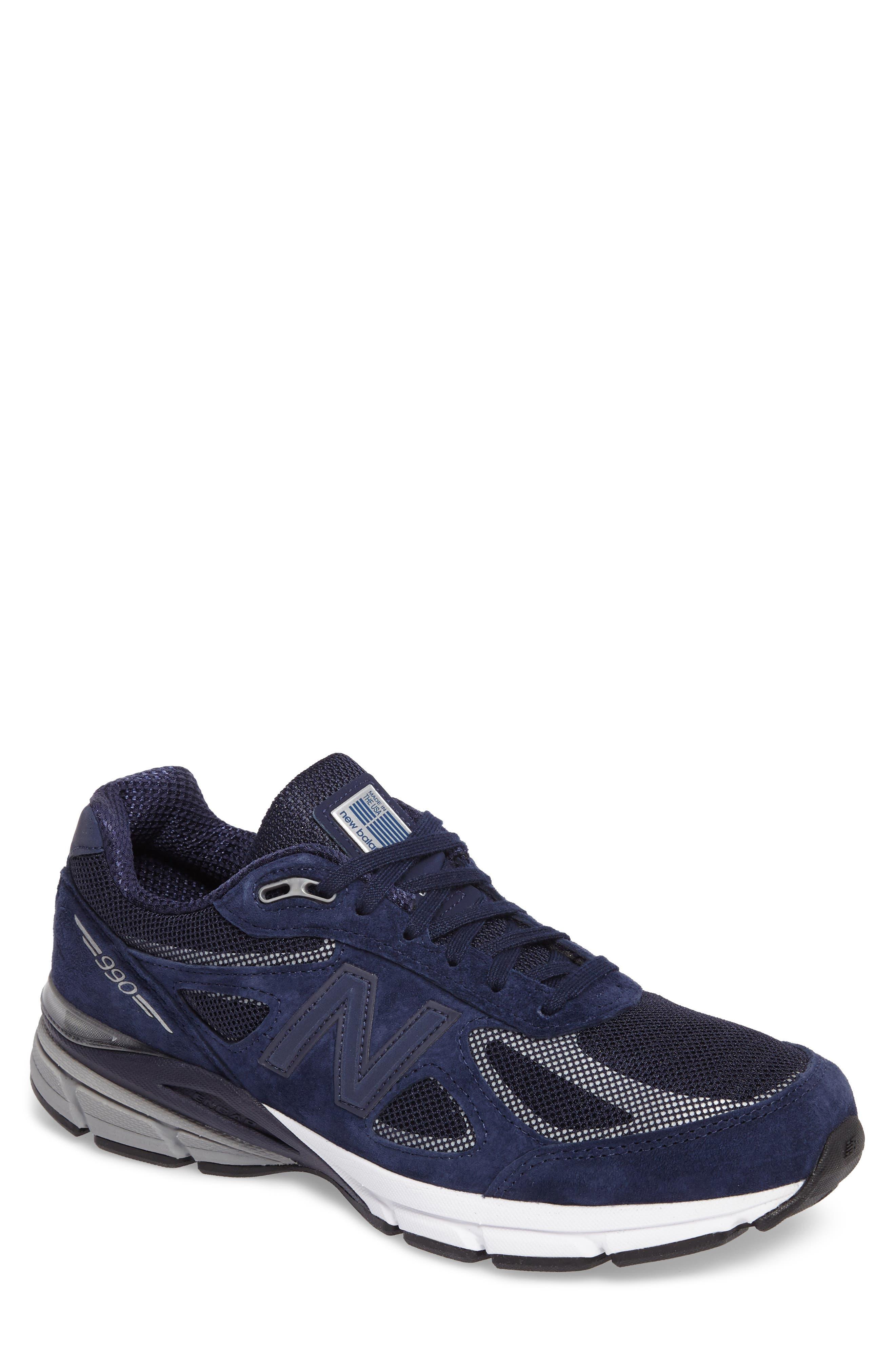 New Balance Reflective 990v4 Running Shoe (Men)
