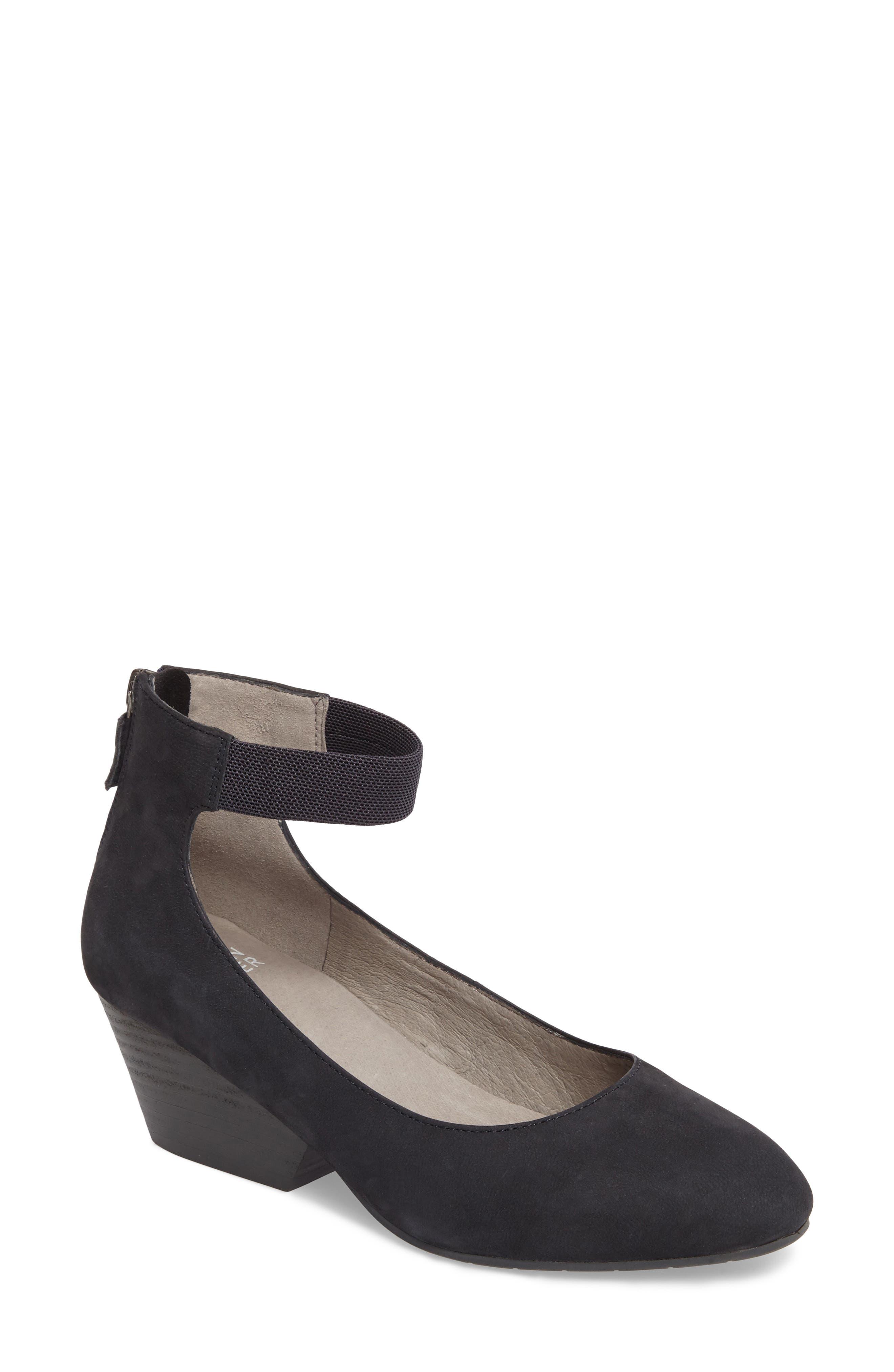 Eileen Fisher 'Liz' Ankle Strap Pump (Women)