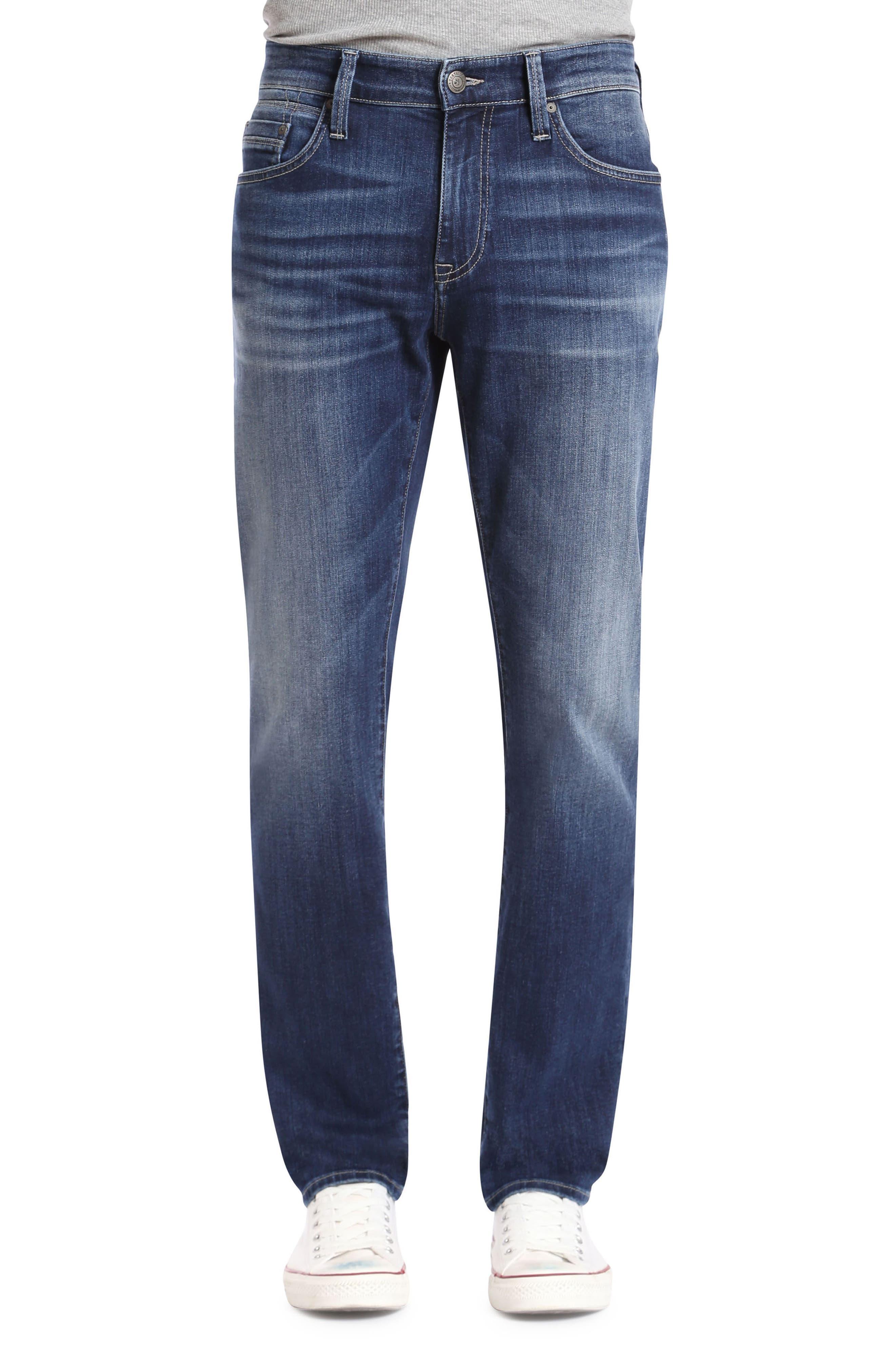 Main Image - Mavi Jeans Marcus Slim Straight Leg Jeans (Dark Blue Williamsburg)