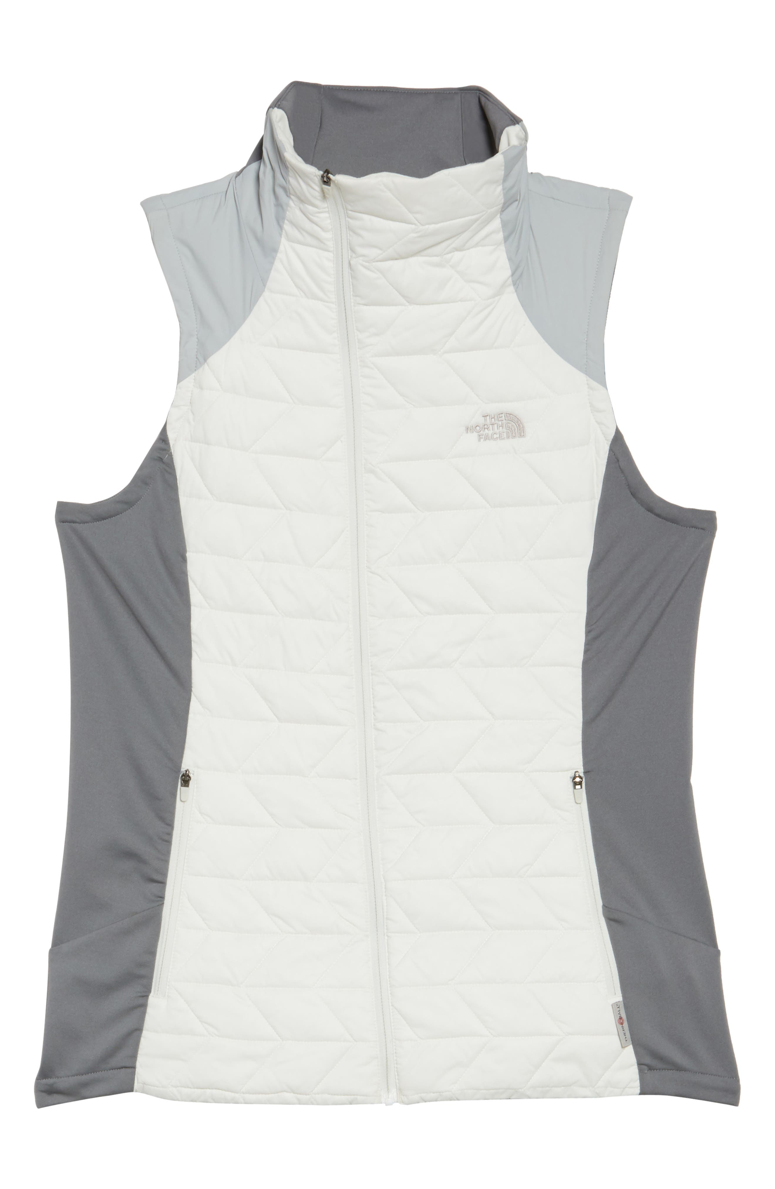 ThermoBall<sup>™</sup> Slim Fit Vest,                         Main,                         color, Vaporous Grey/ High Rise Grey