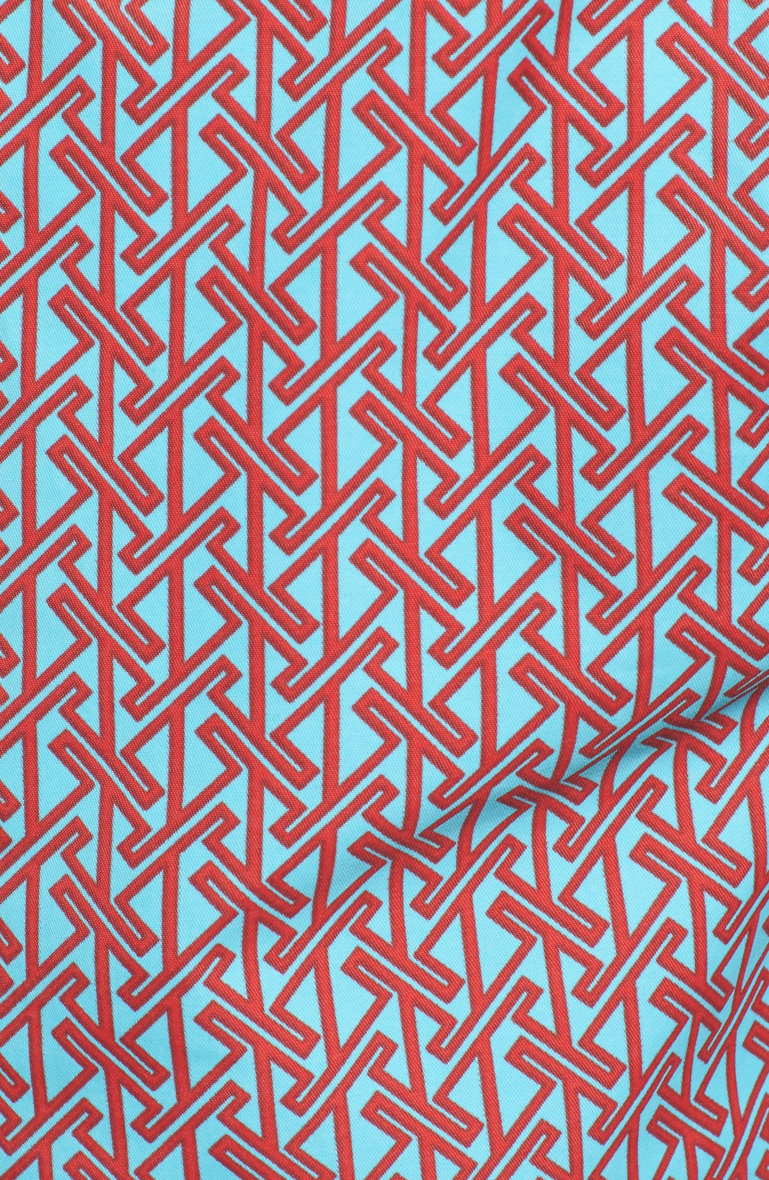 Alternate Image 5  - Mr. Swim Vertical Zig Print Swim Trunks