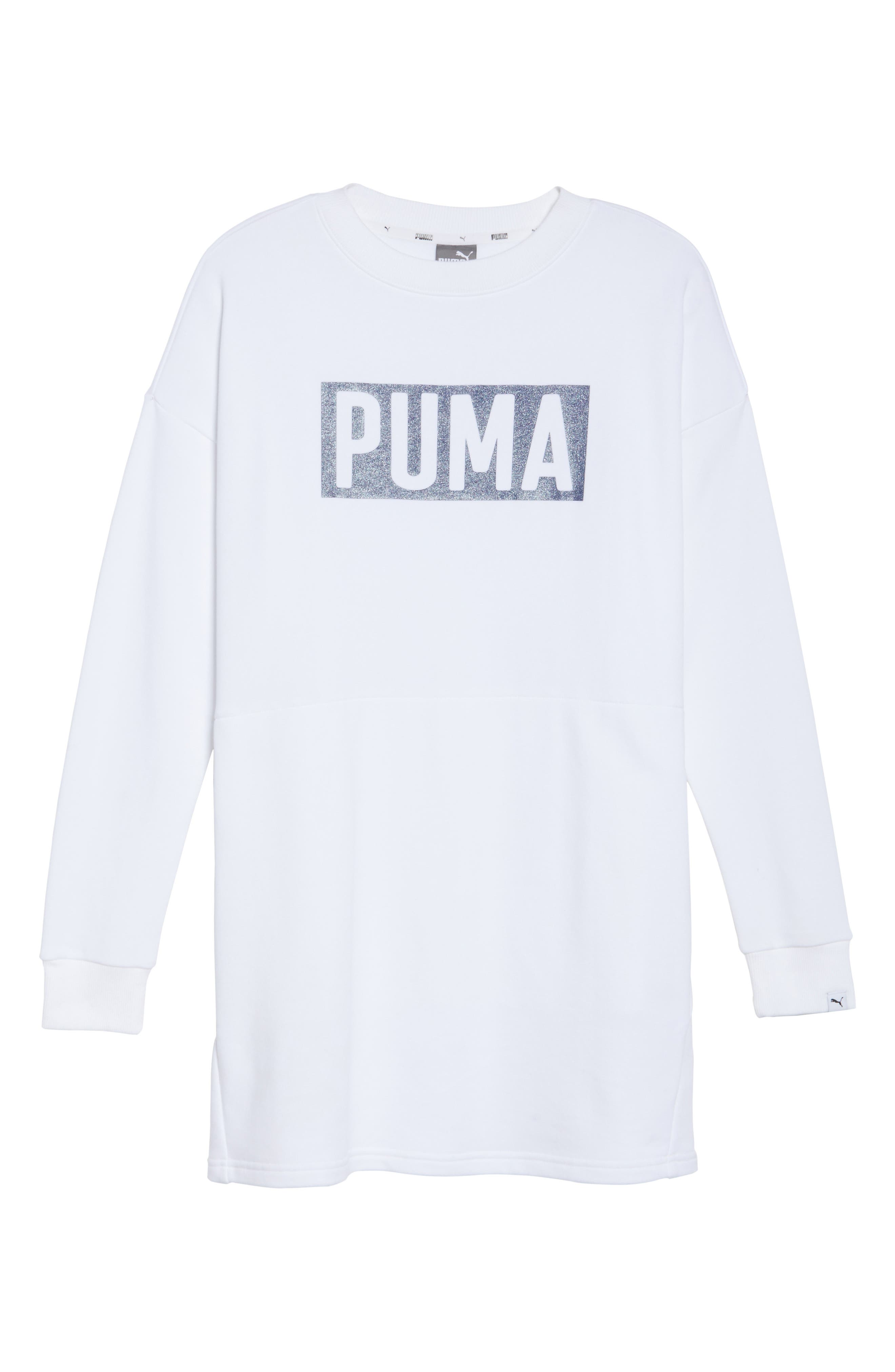 Alternate Image 6  - PUMA Fusion Sweatshirt Dress