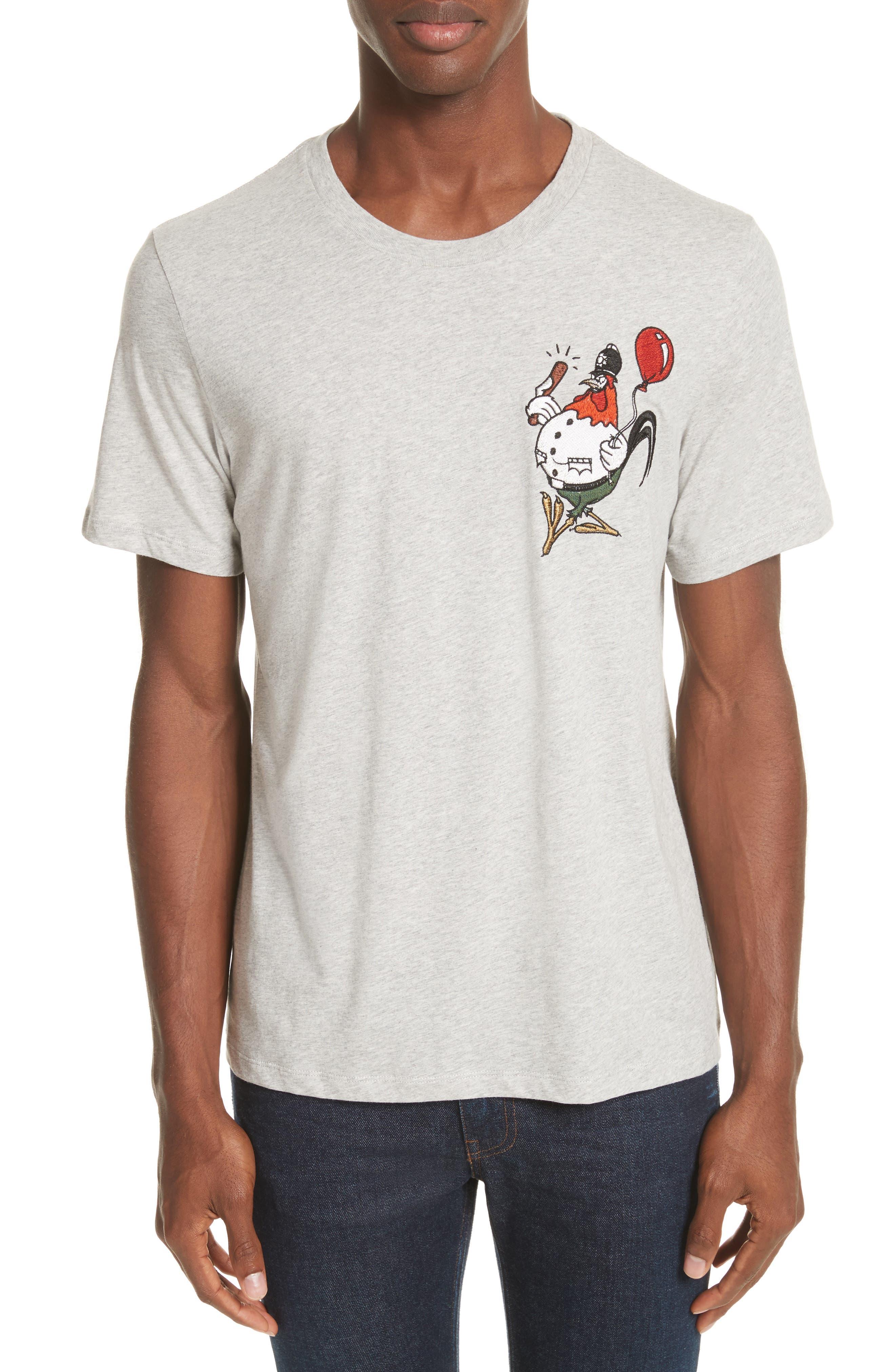 Burberry Sketch Appliqué T-Shirt