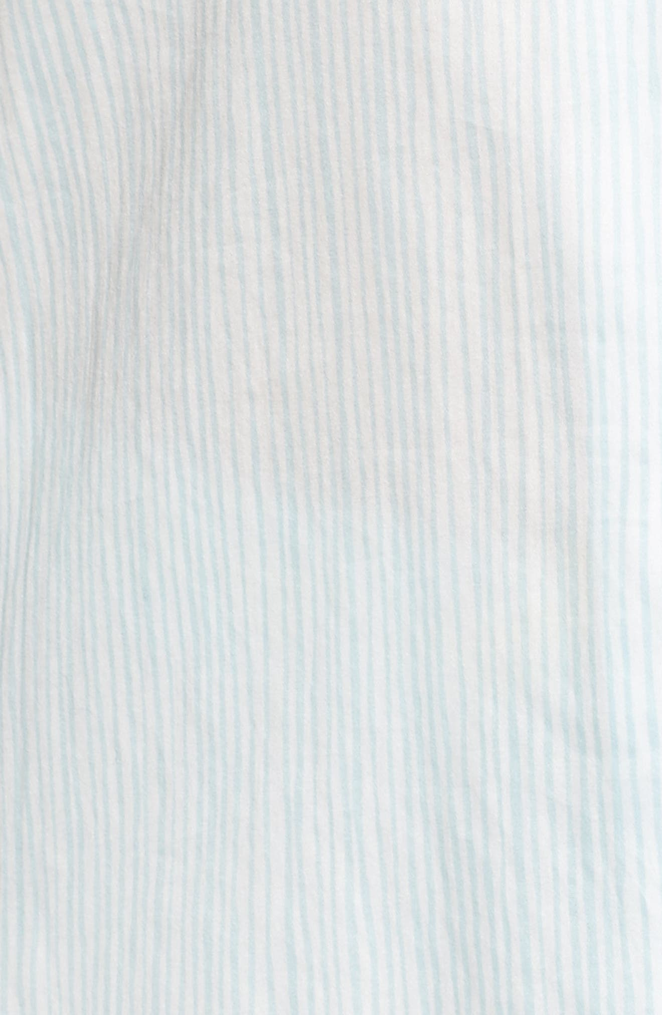 Suzie Pajamas,                             Alternate thumbnail 6, color,                             Pencil Stripe Seafoam