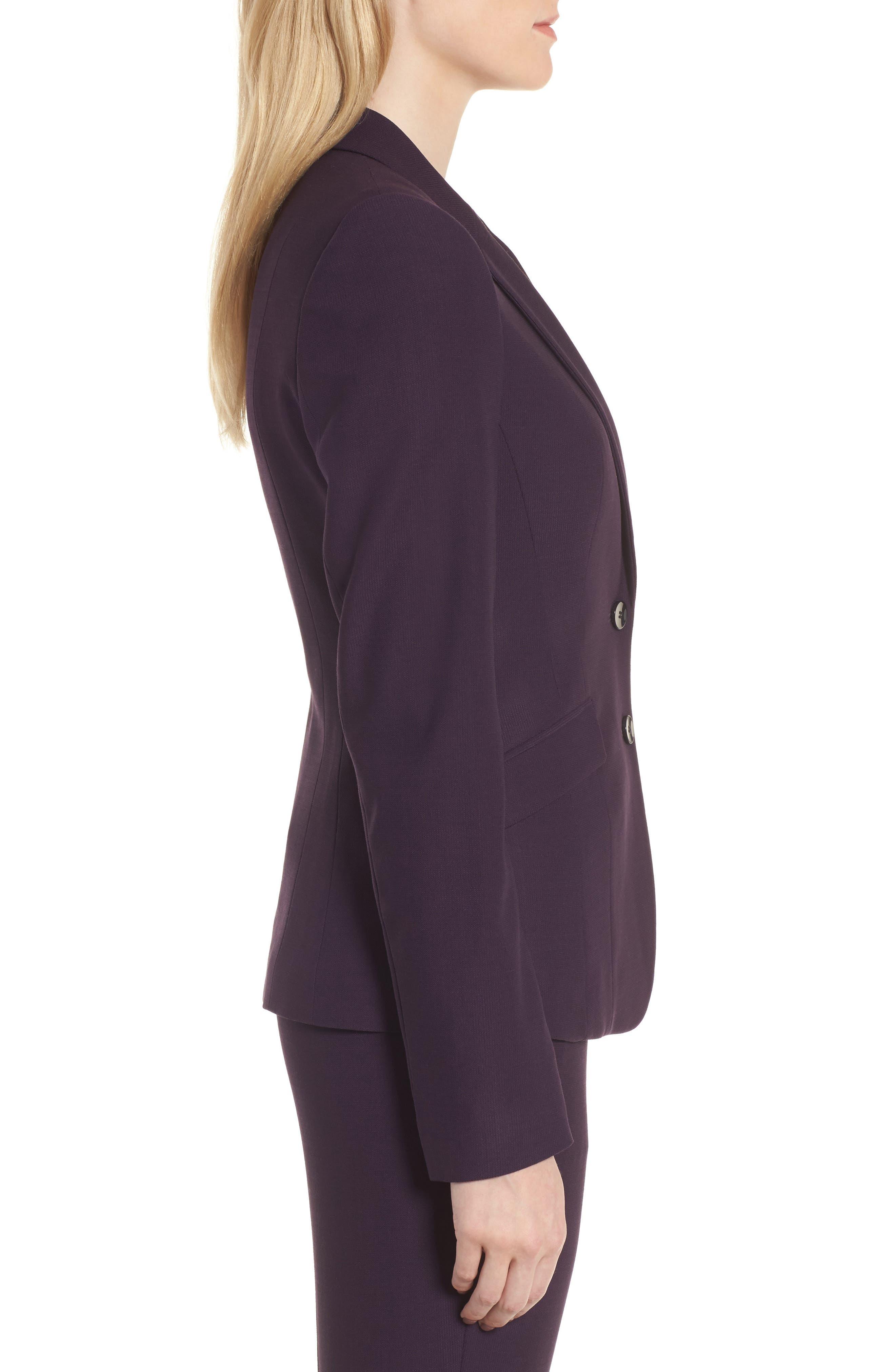 Alternate Image 3  - BOSS Jonalua Stretch Wool Suit Jacket (Regular & Petite)