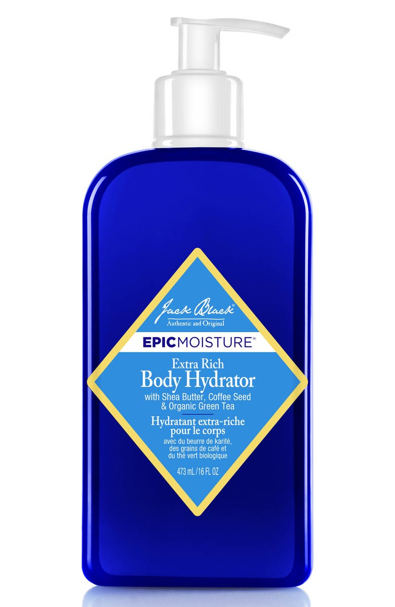 Jack Black 'Epic Moisture™' Extra Rich Body Hydrator with Shea Butter, Coffee Seed, & Organic Green Tea