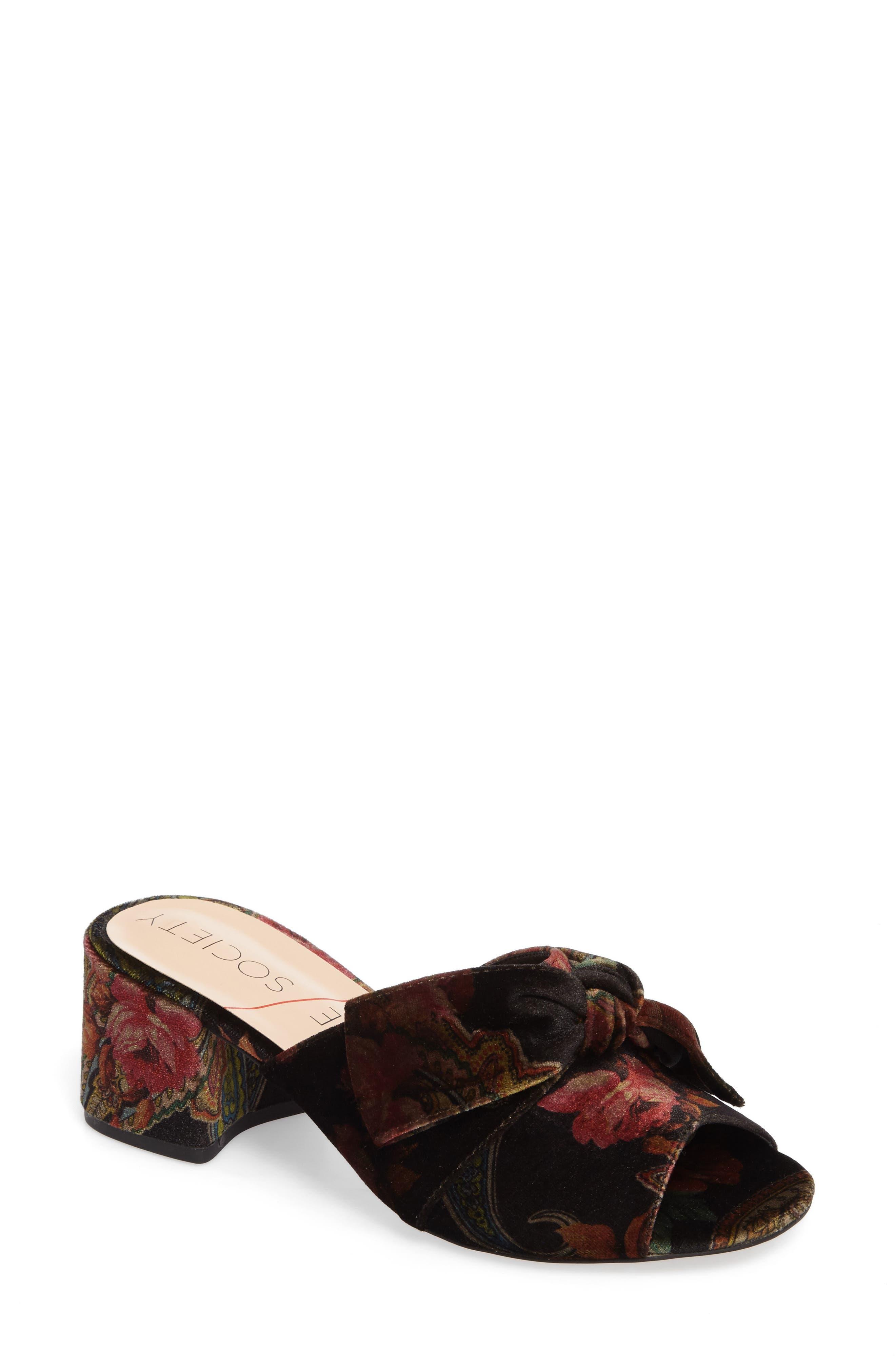 Alternate Image 1 Selected - Sole Society Cece Mule Sandal (Women)