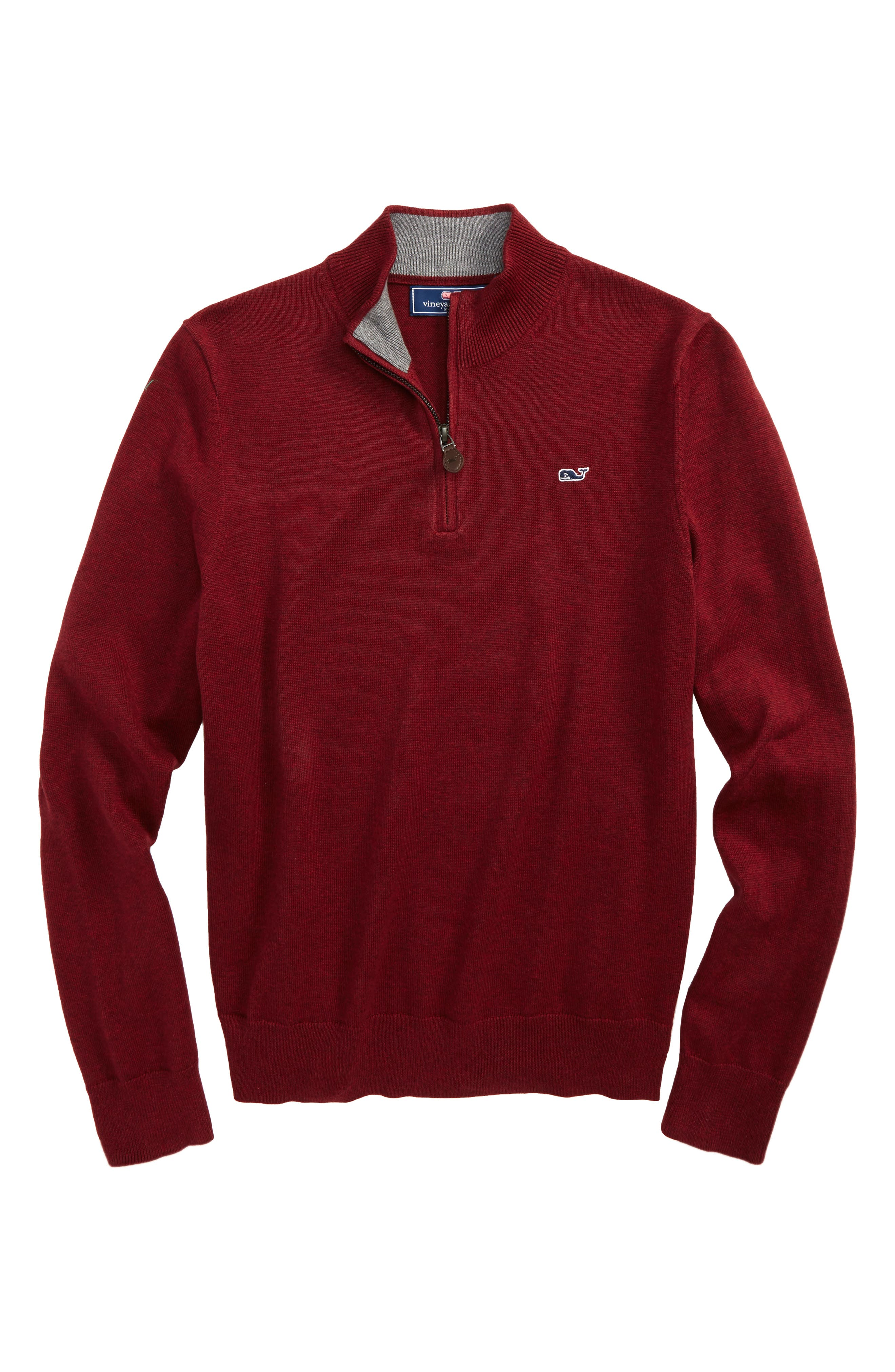 vineyard vines Classic Quarter Zip Sweater (Big Boys)