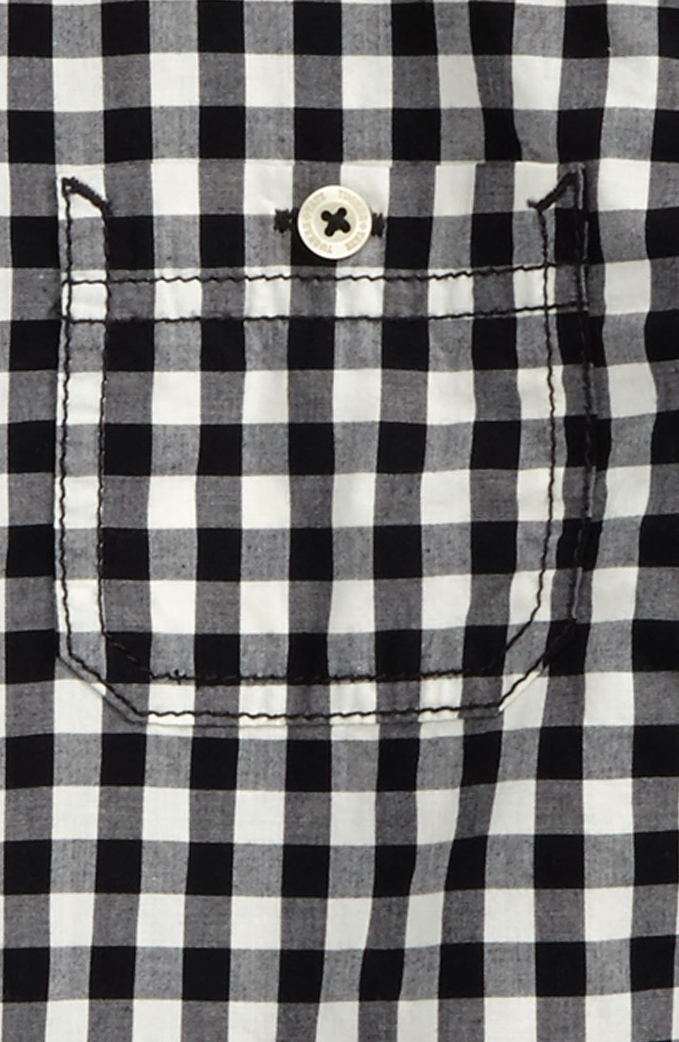 Alternate Image 2  - Tucker + Tate 'Photo' Buffalo Plaid Woven Shirt (Little Boys)