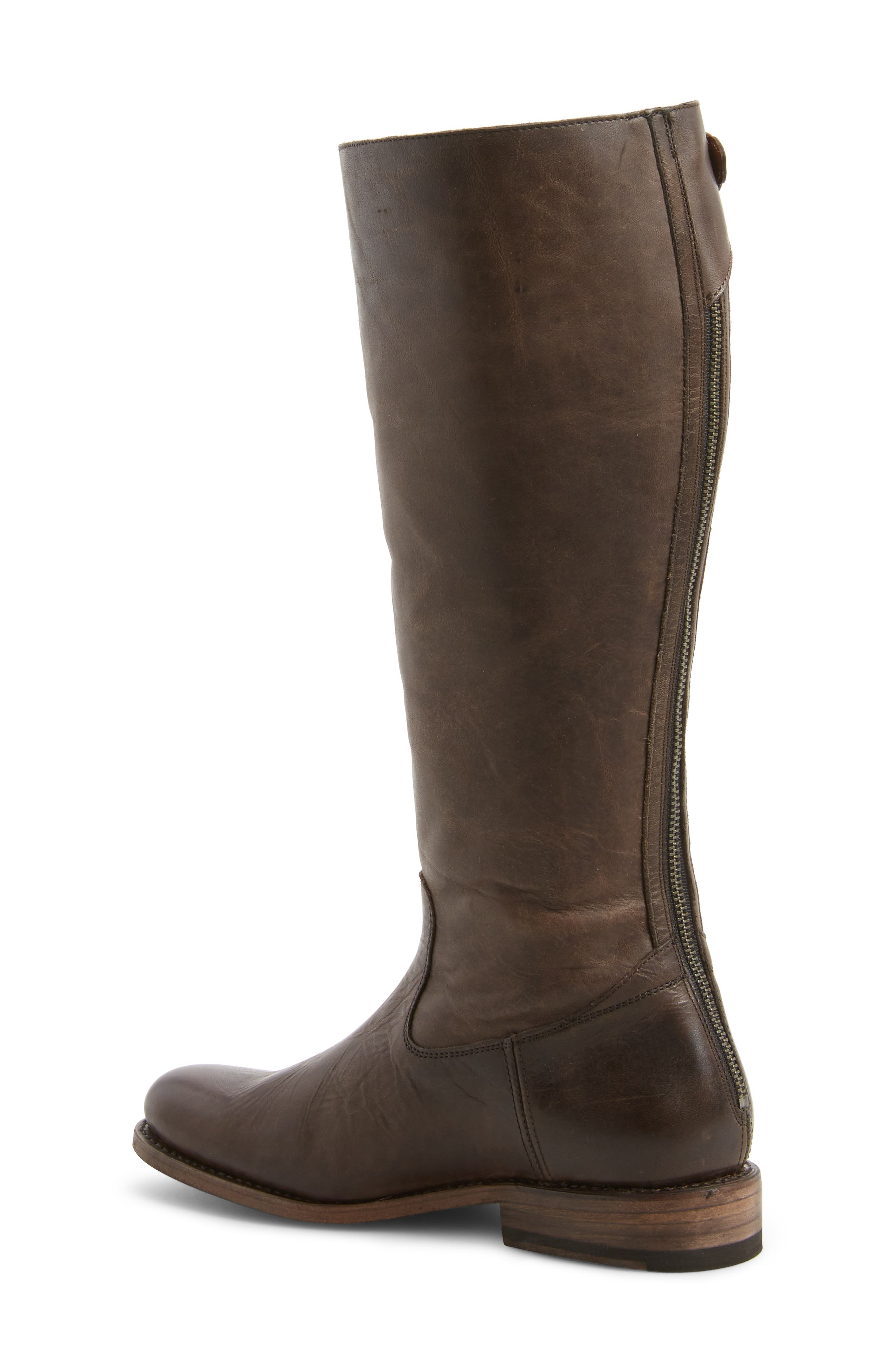 Alternate Image 2  - Frye Jayden Buckle Back Zip Boot (Women) (Regular & Extended Calf)