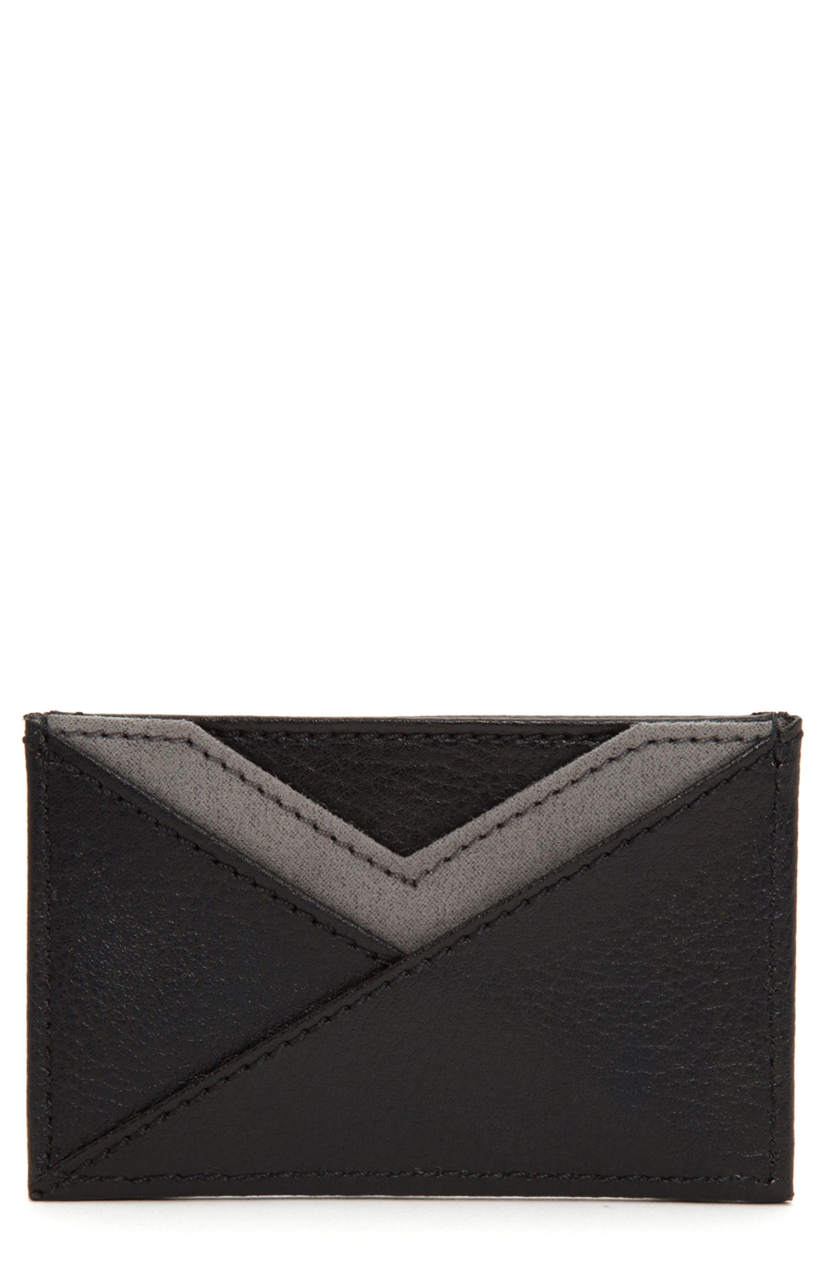 Howard Card Case,                         Main,                         color, Black
