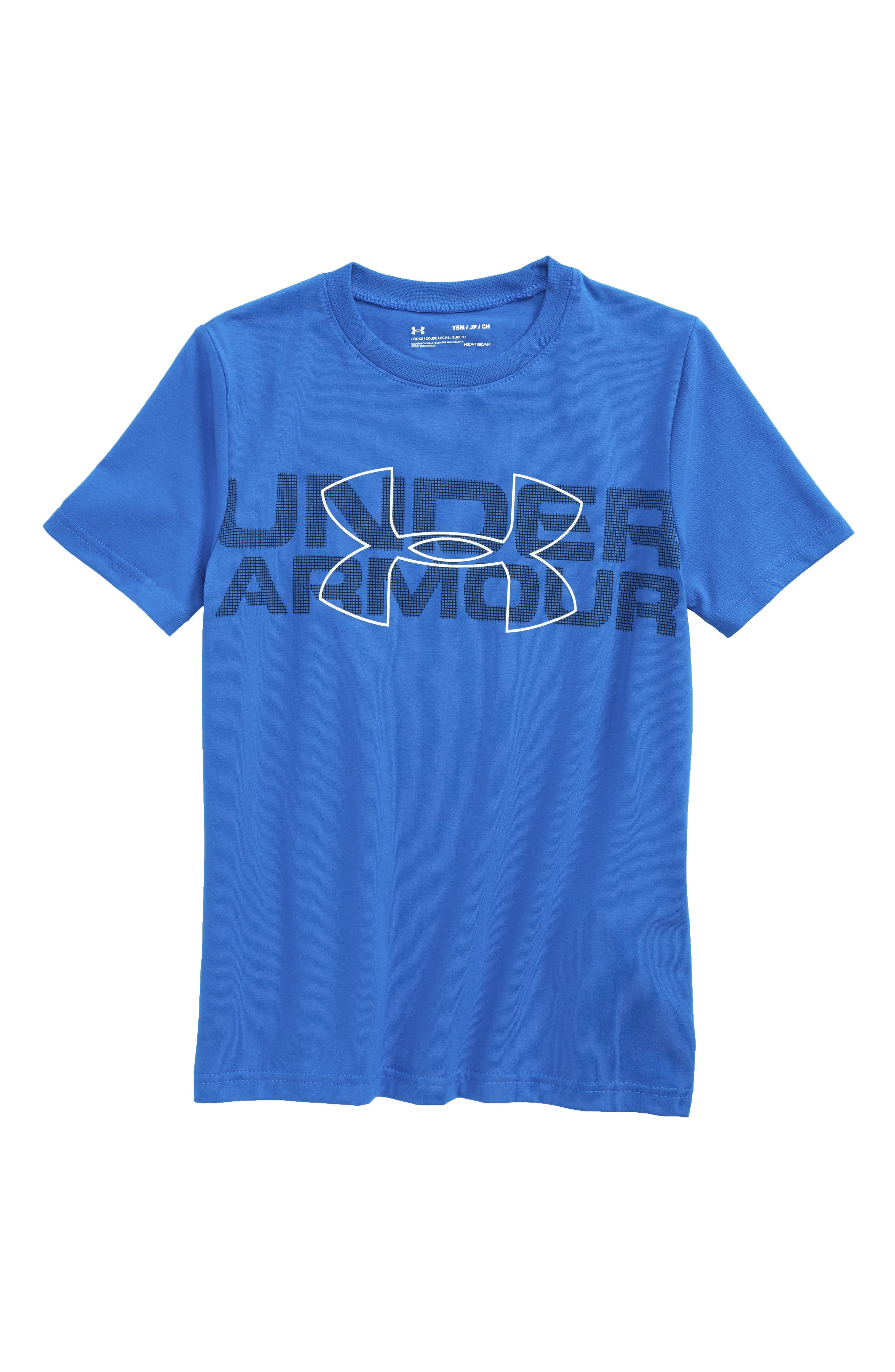 Duo Graphic T-Shirt,                         Main,                         color, Ultra Blue/ Black