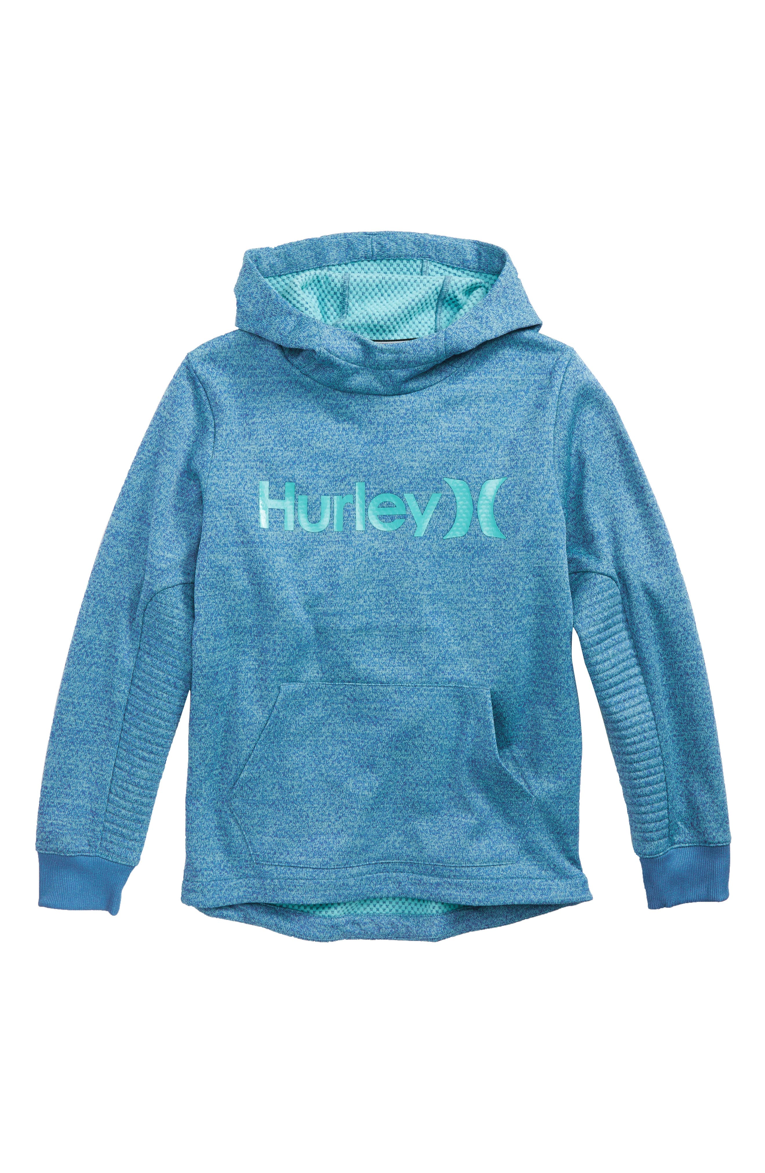 Hurley One and Only Therma-FIT Pullover Hoodie (Big Boys)