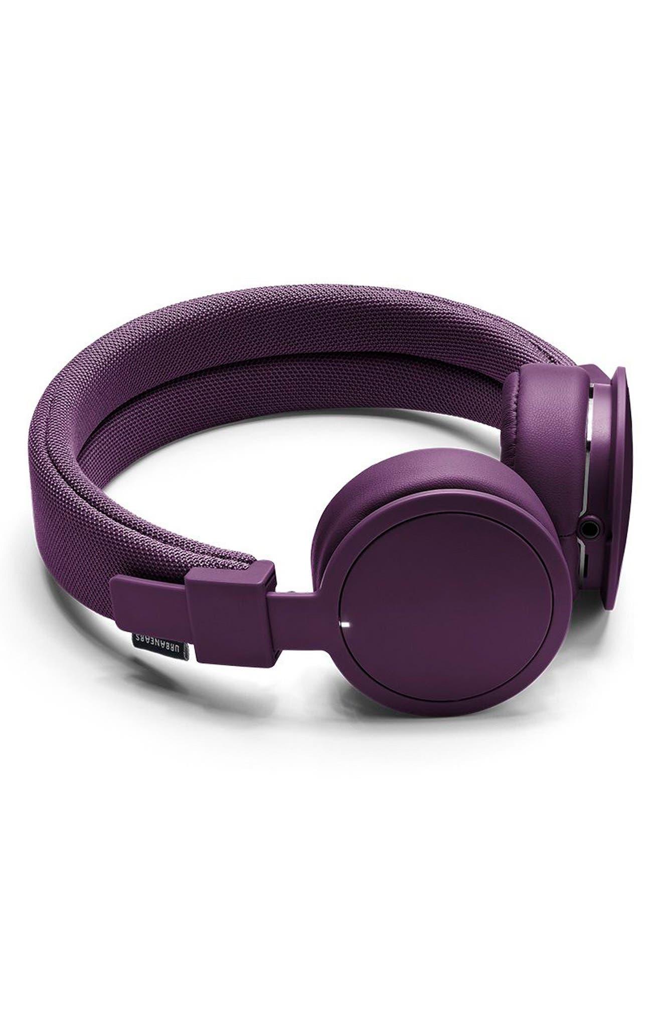 'Plattan ADV Wireless' Bluetooth<sup>®</sup> On-Ear Headphones,                             Alternate thumbnail 2, color,                             Cosmos Purple