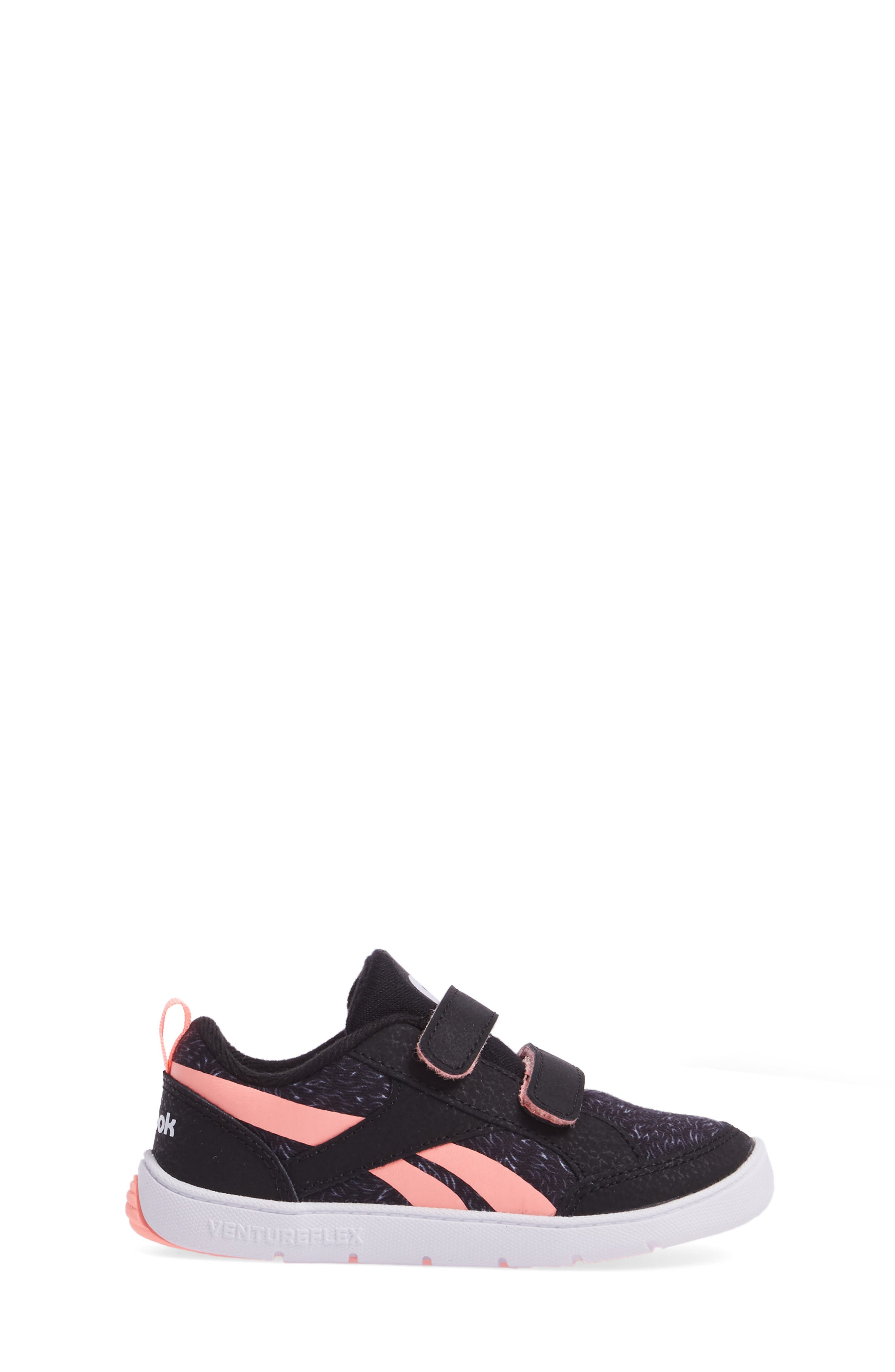 Ventureflex Critter Feet Sneaker,                             Alternate thumbnail 3, color,                             Artic Black/ White/ Sour Melon