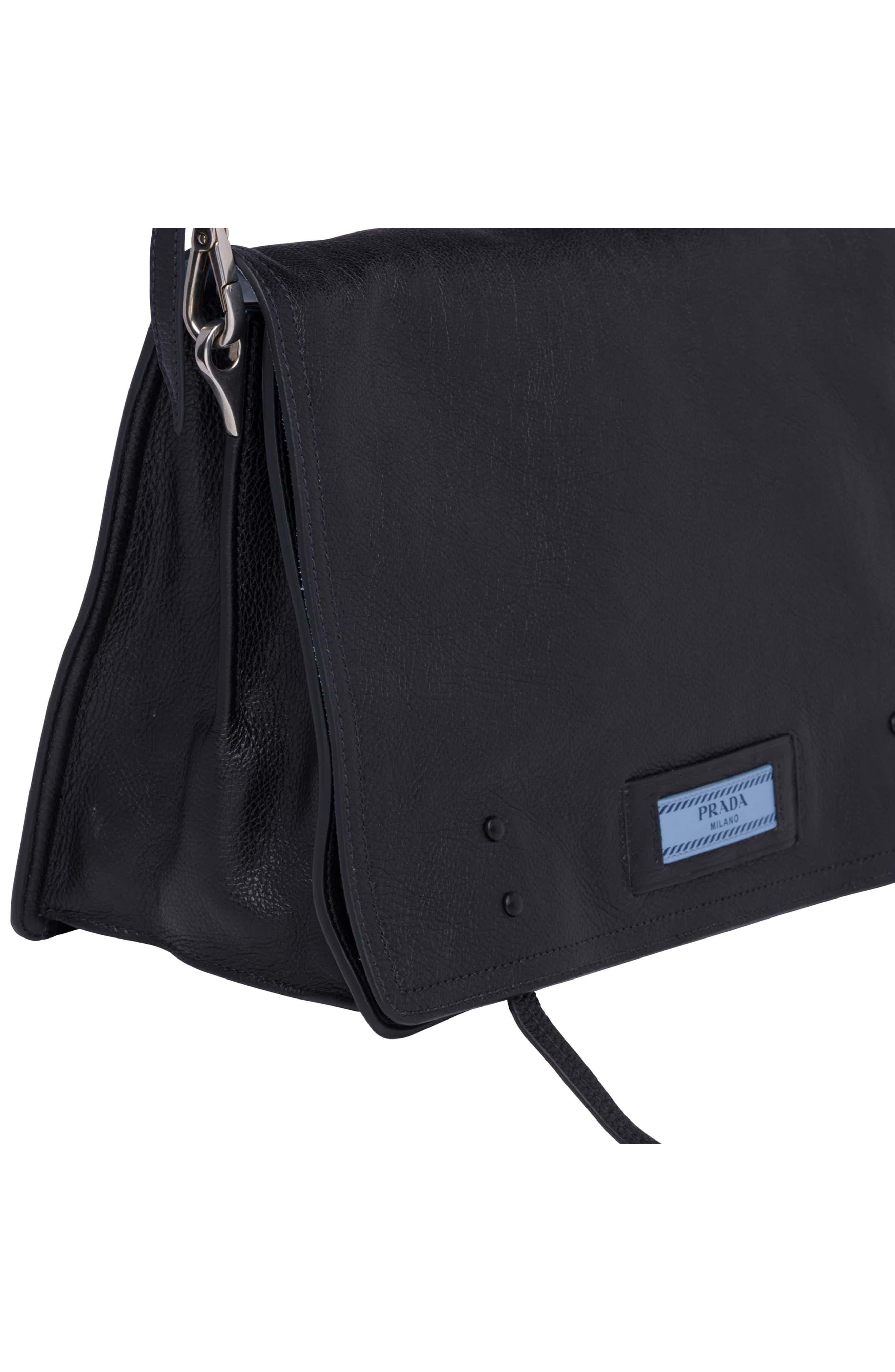 Alternate Image 6  - Prada Cahier Glace Messenger Bag