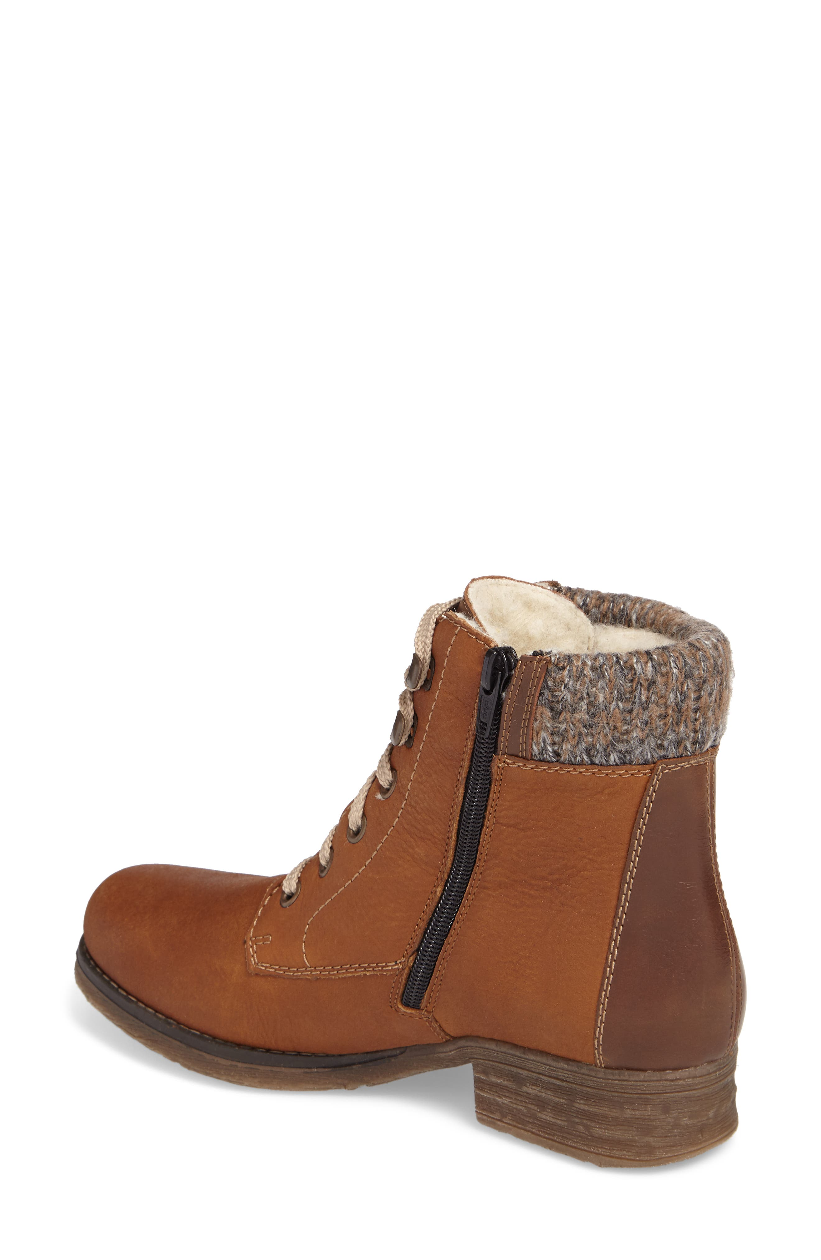 Alternate Image 2  - Rieker Antistress Fee 02 Lace-Up Boot (Women)