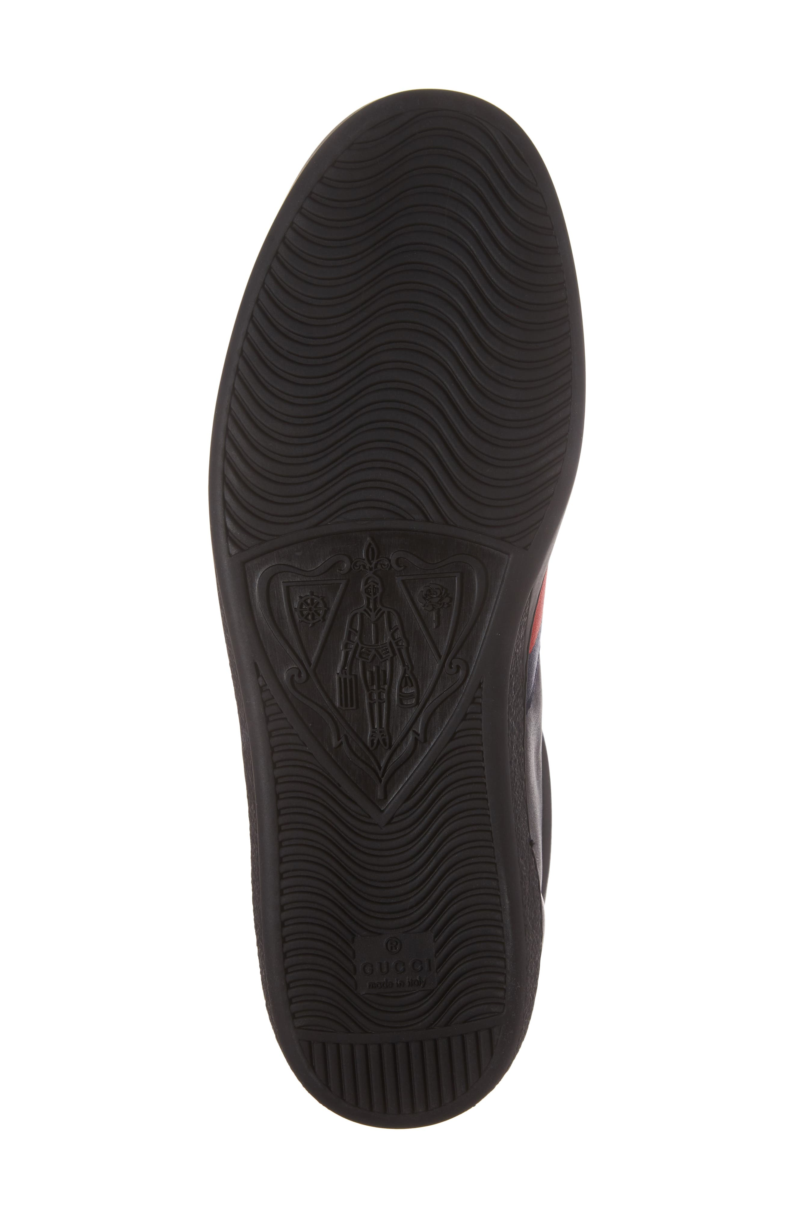 Ace High Top Sneaker,                             Alternate thumbnail 6, color,                             Black