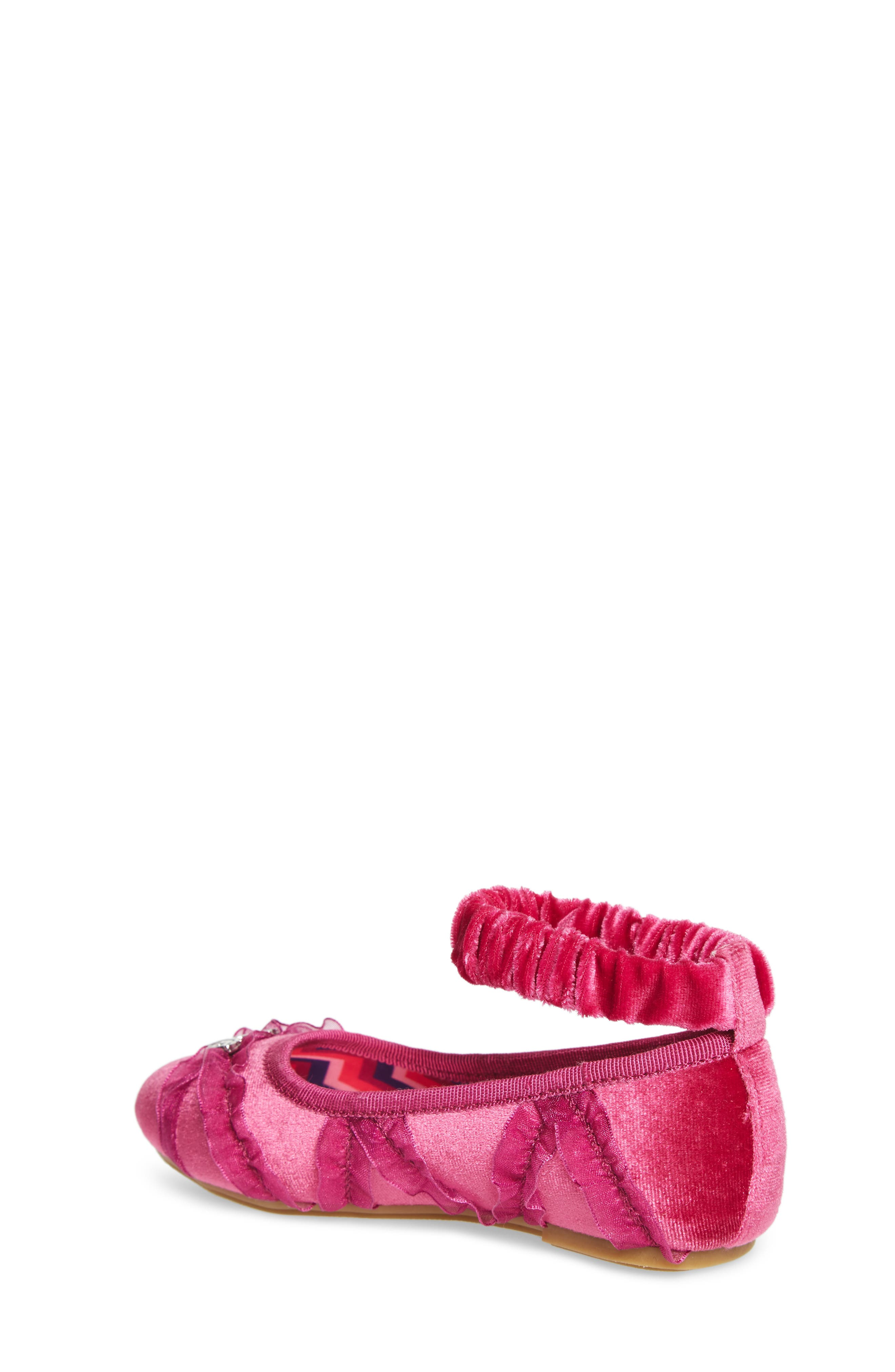 Emerson Ankle Strap Ballet Flat,                             Alternate thumbnail 2, color,                             Pink Multi