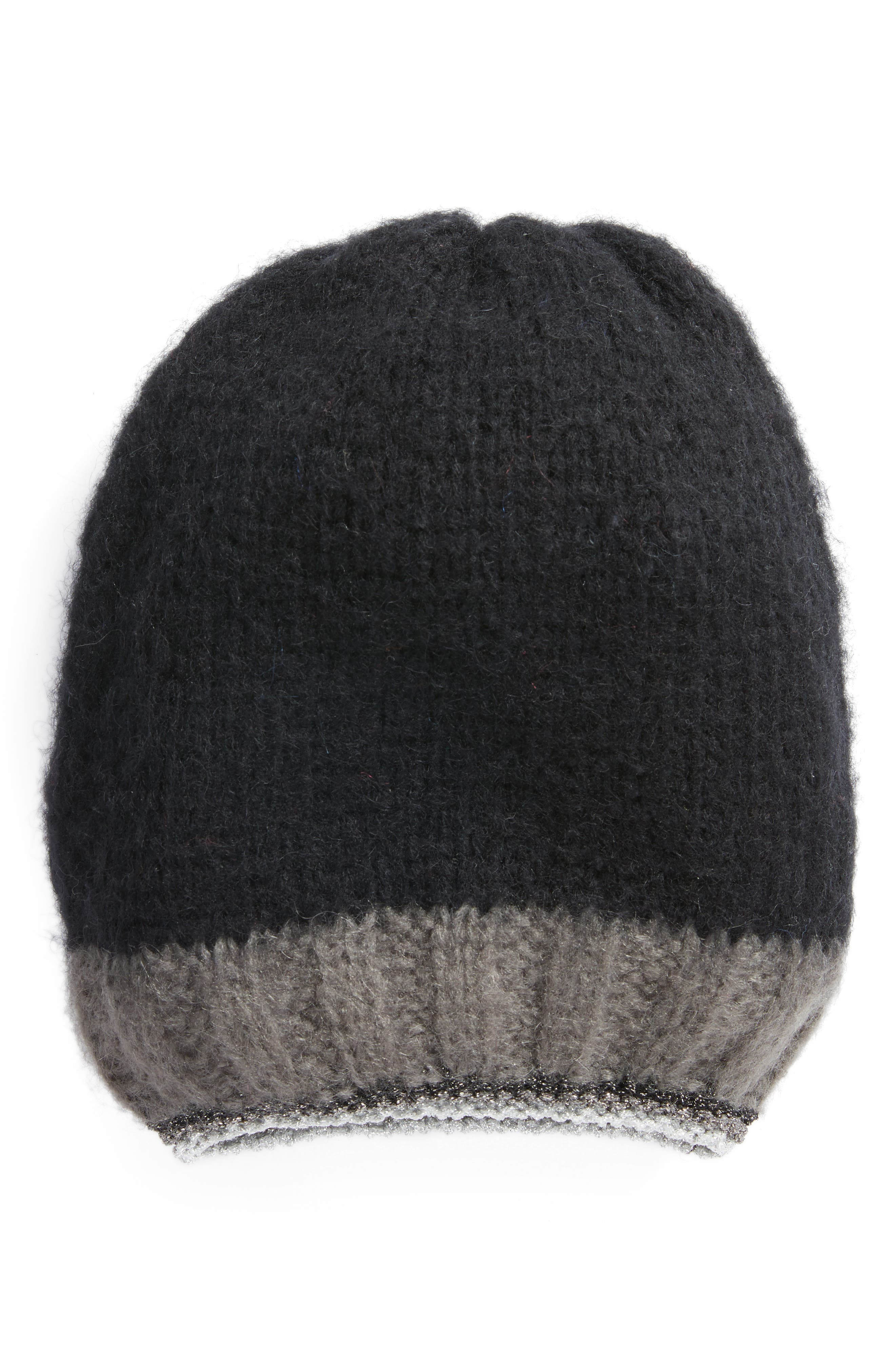 Treasure & Bond Metallic Tipped Beanie