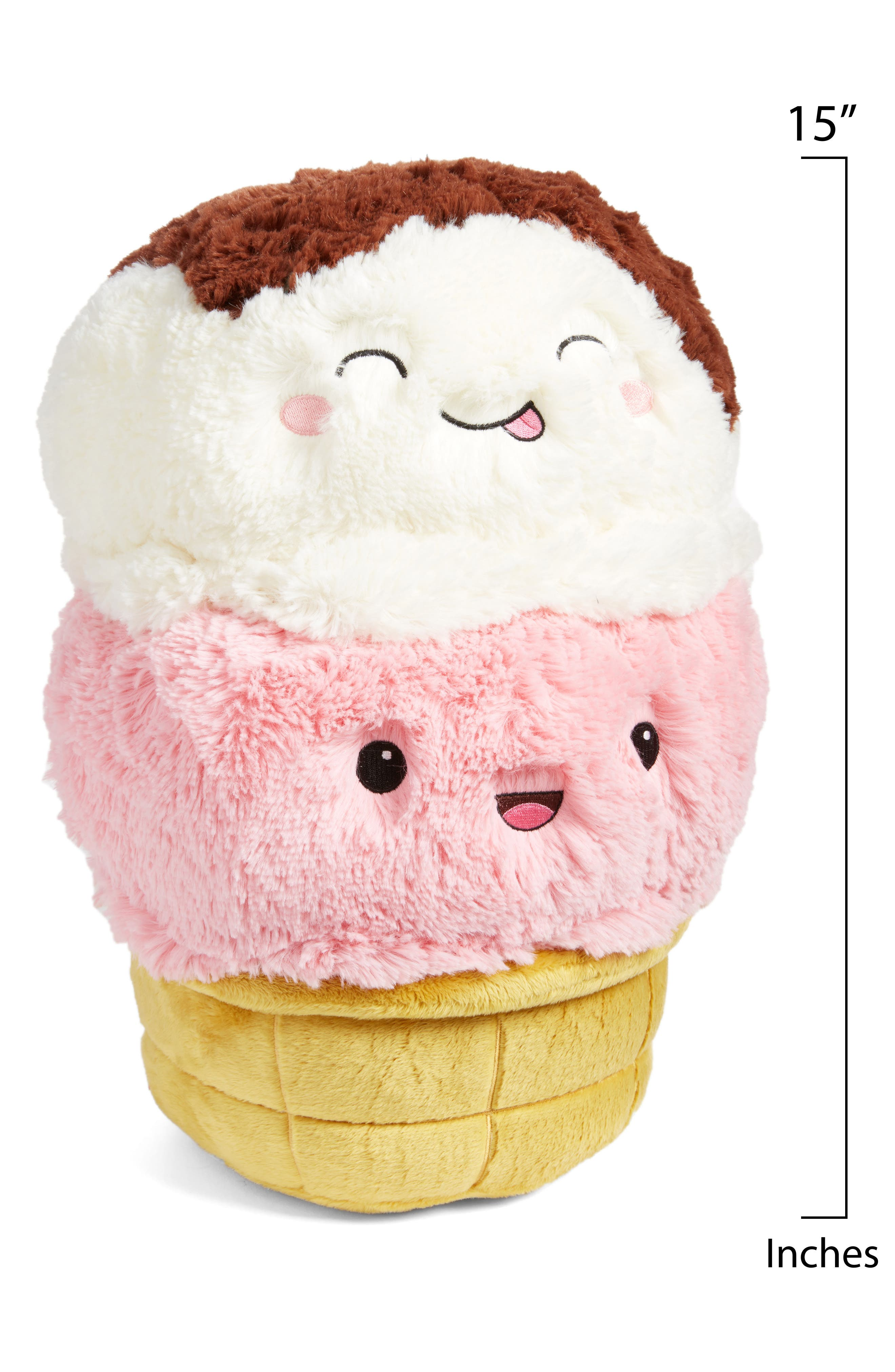 Ice Cream Cone Stuffed Toy,                             Alternate thumbnail 2, color,                             Multi