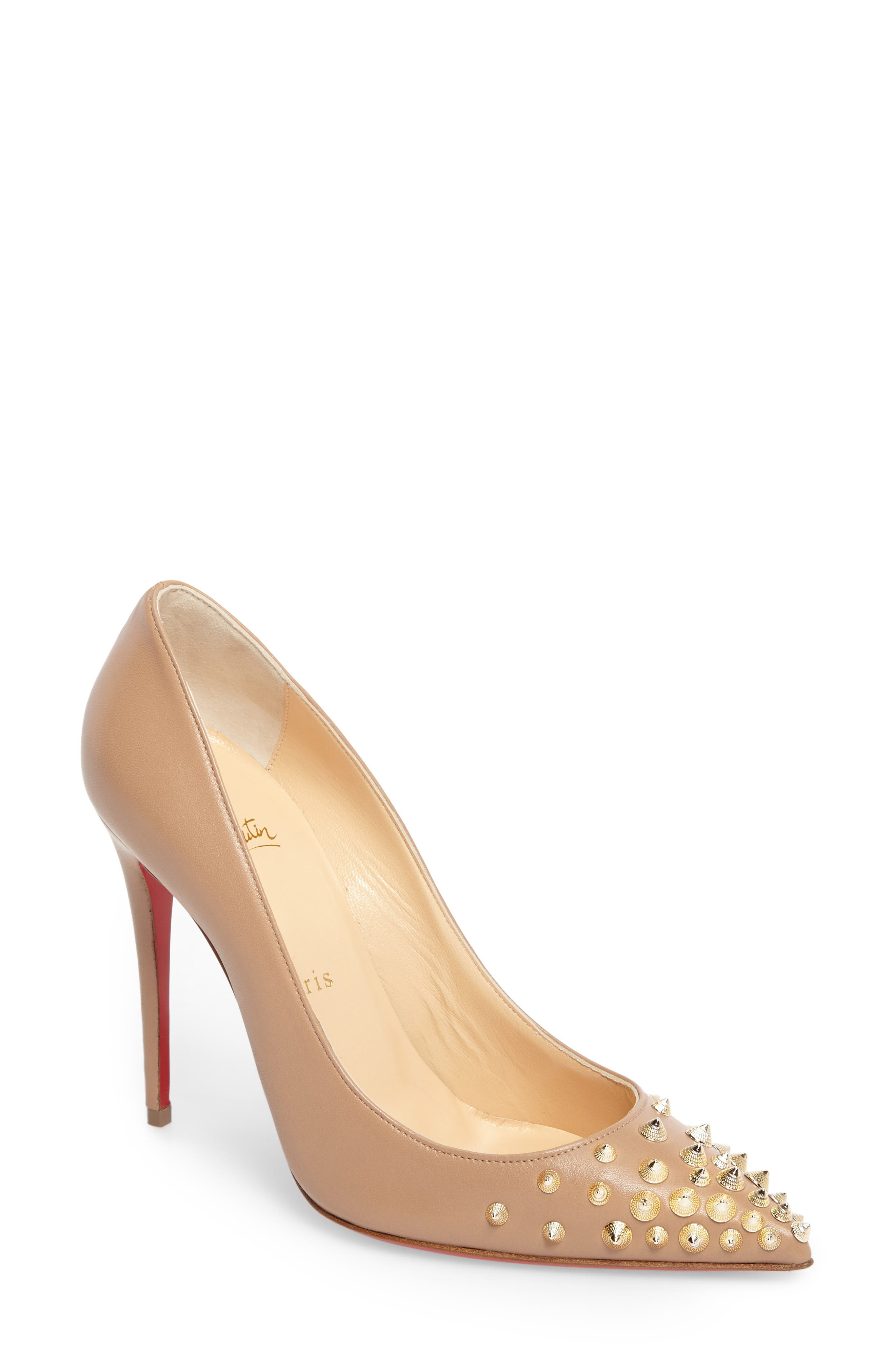 Christian Louboutin Spikyshell Pump (Women)