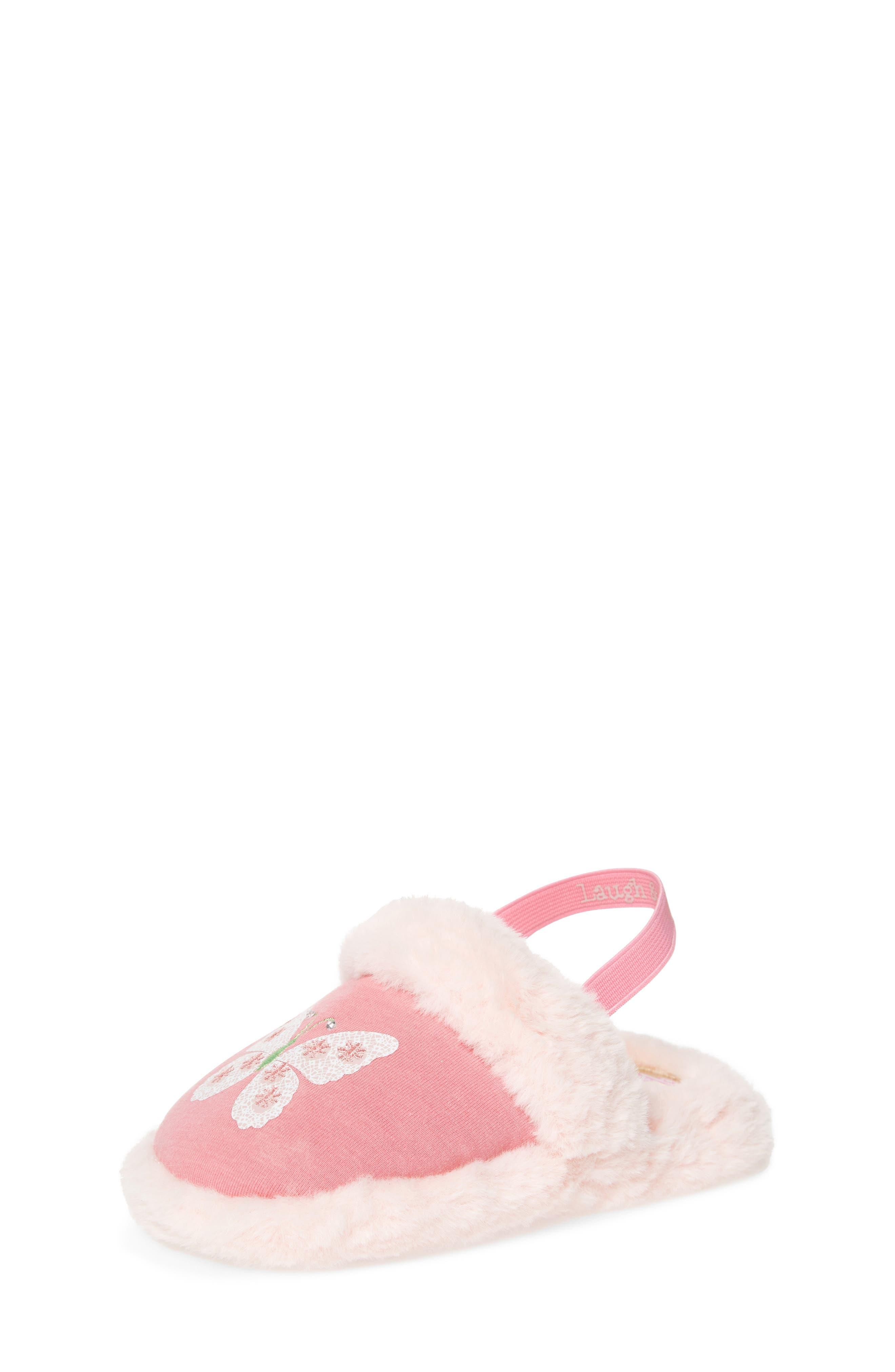 Main Image - WellieWishers from American Girl Ashlyn Faux Fur Slipper (Walker & Toddler)