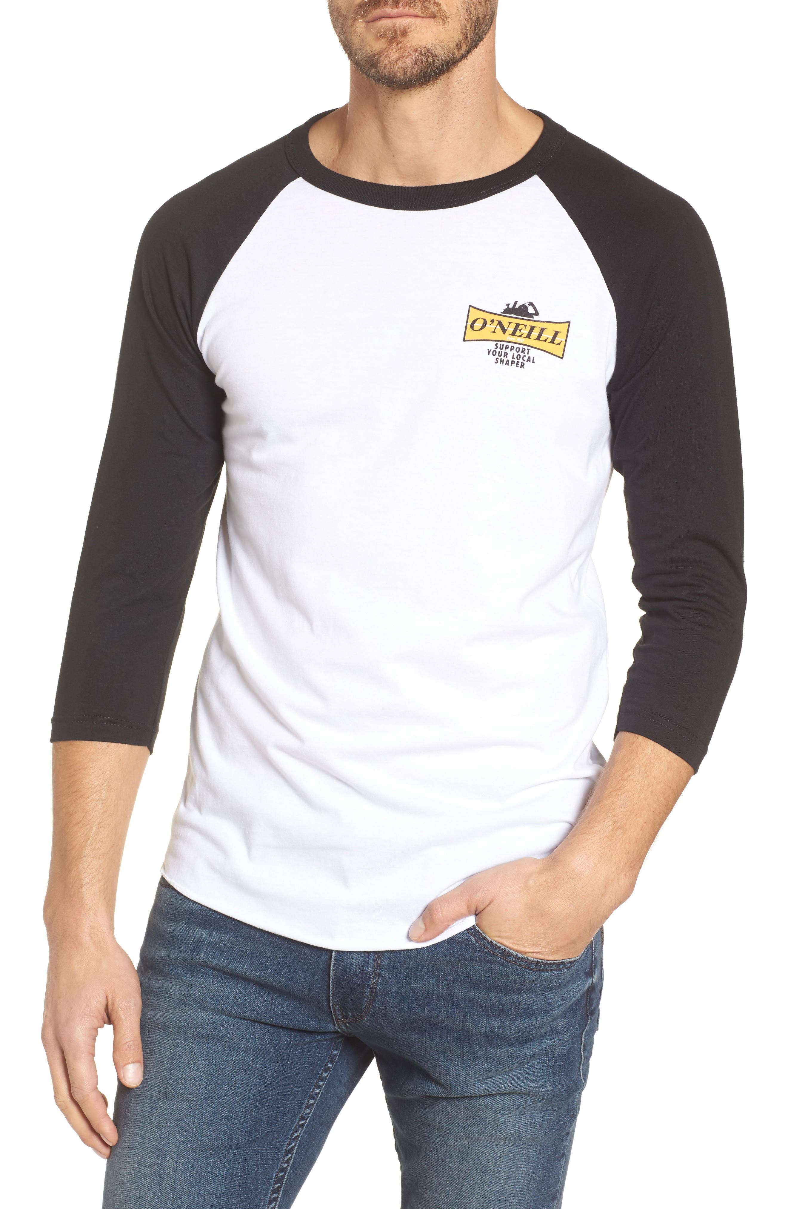 Alternate Image 1 Selected - O'Neill Planer Raglan T-Shirt
