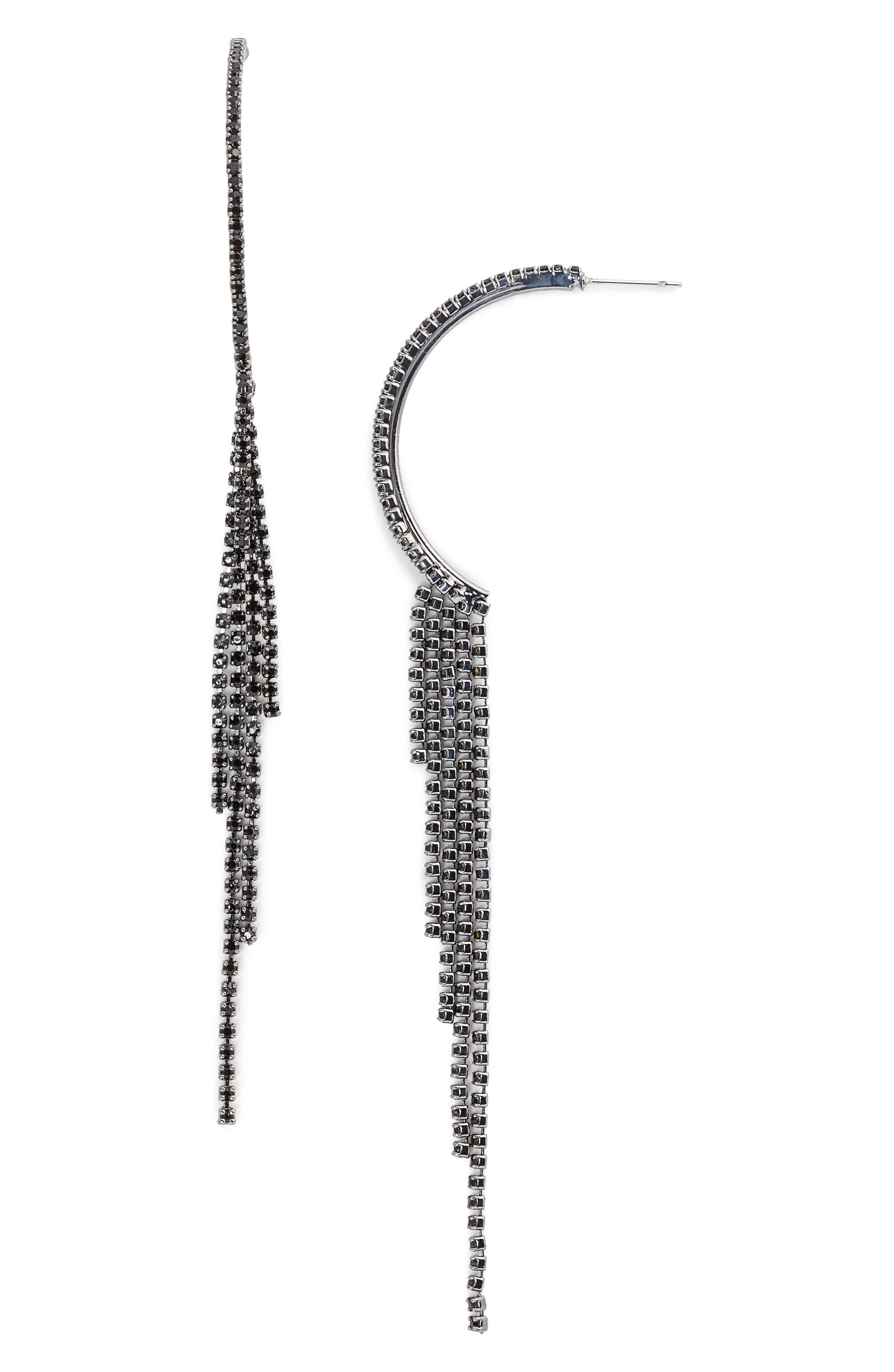Main Image - CRISTABELLE Crystal Fringe Earrings