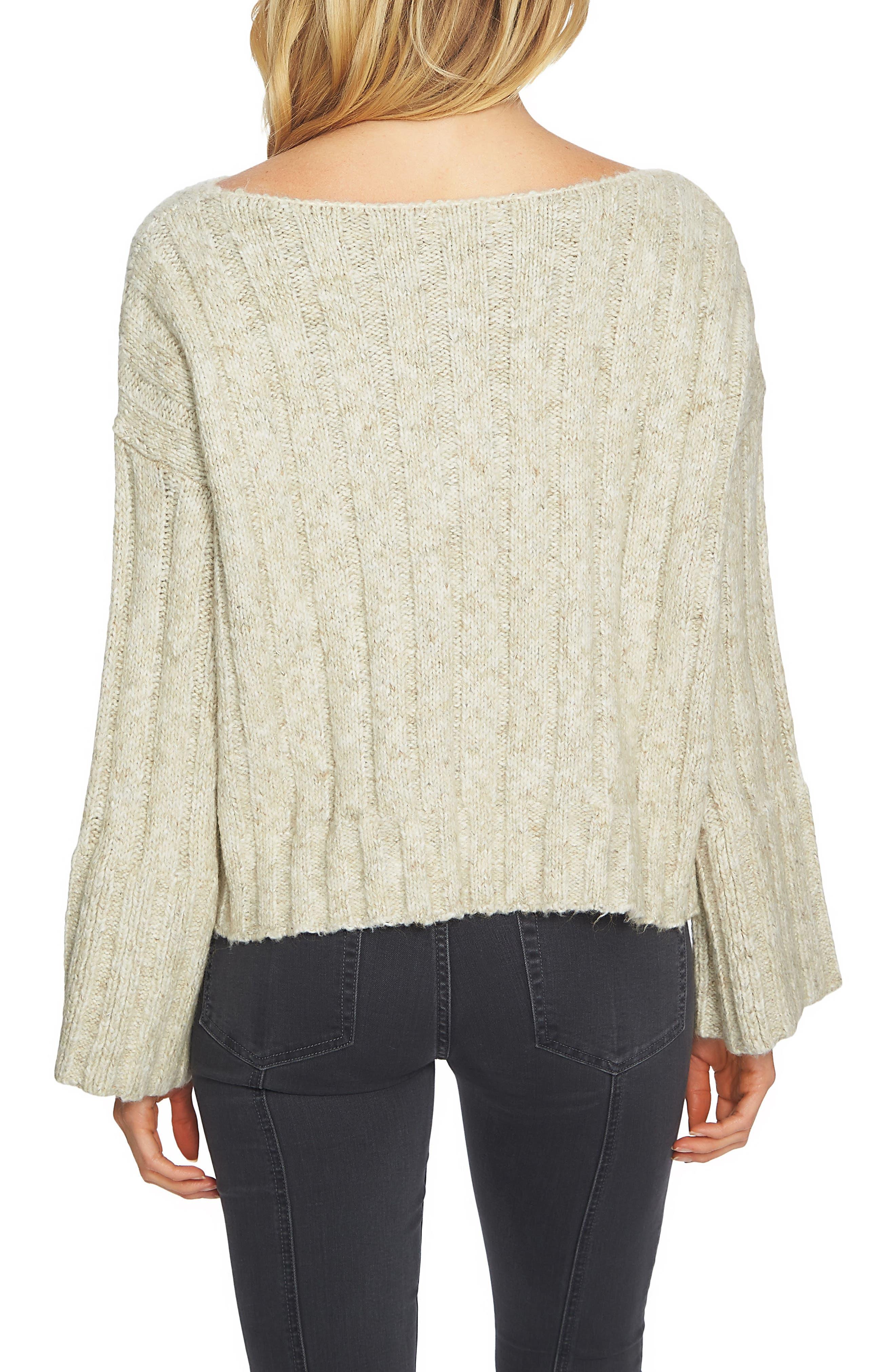 Alternate Image 2  - 1.STATE Bell Sleeve Sweater