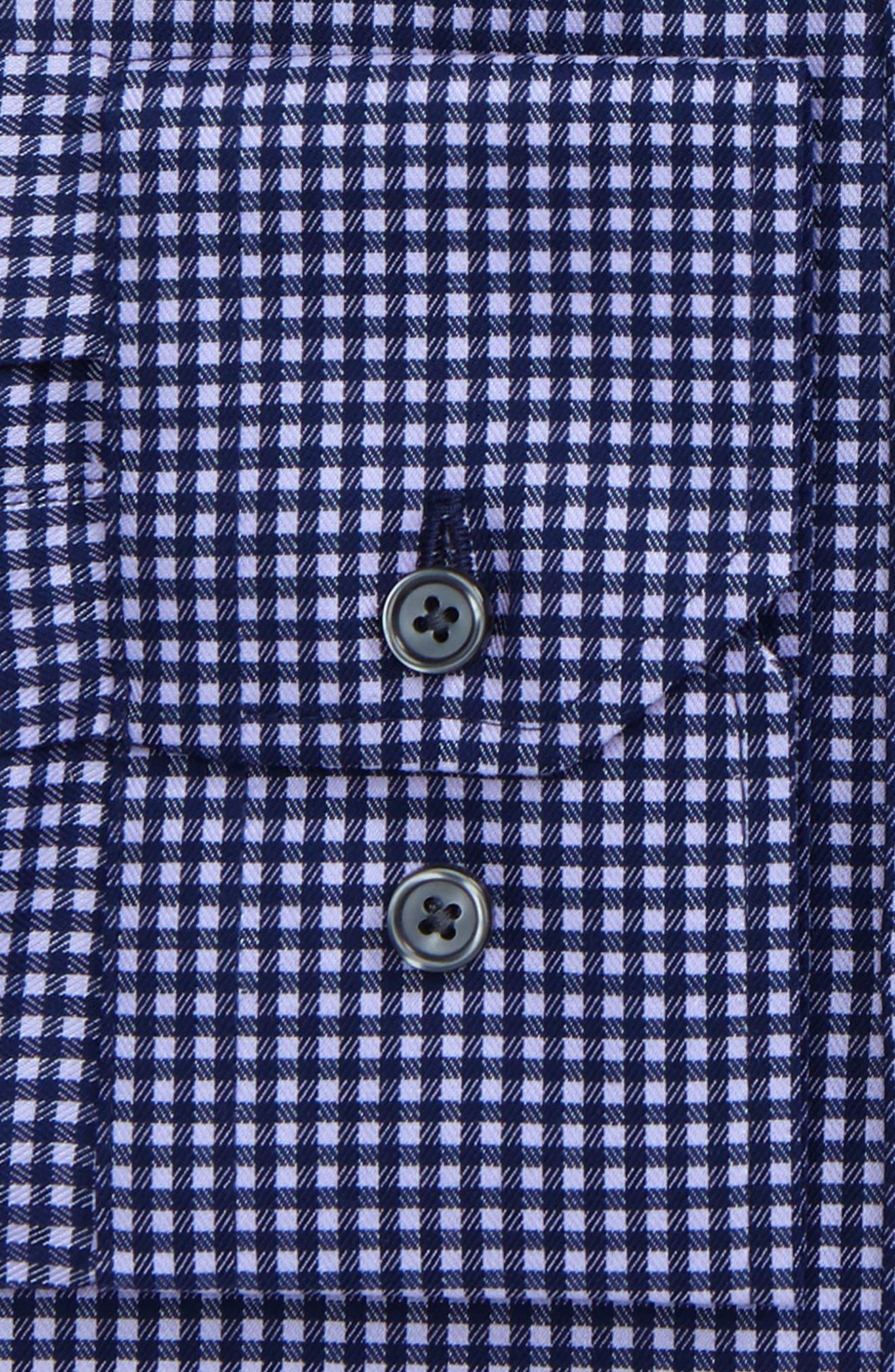 Alternate Image 2  - Calibrate Trim Fit Stretch Check Dress Shirt