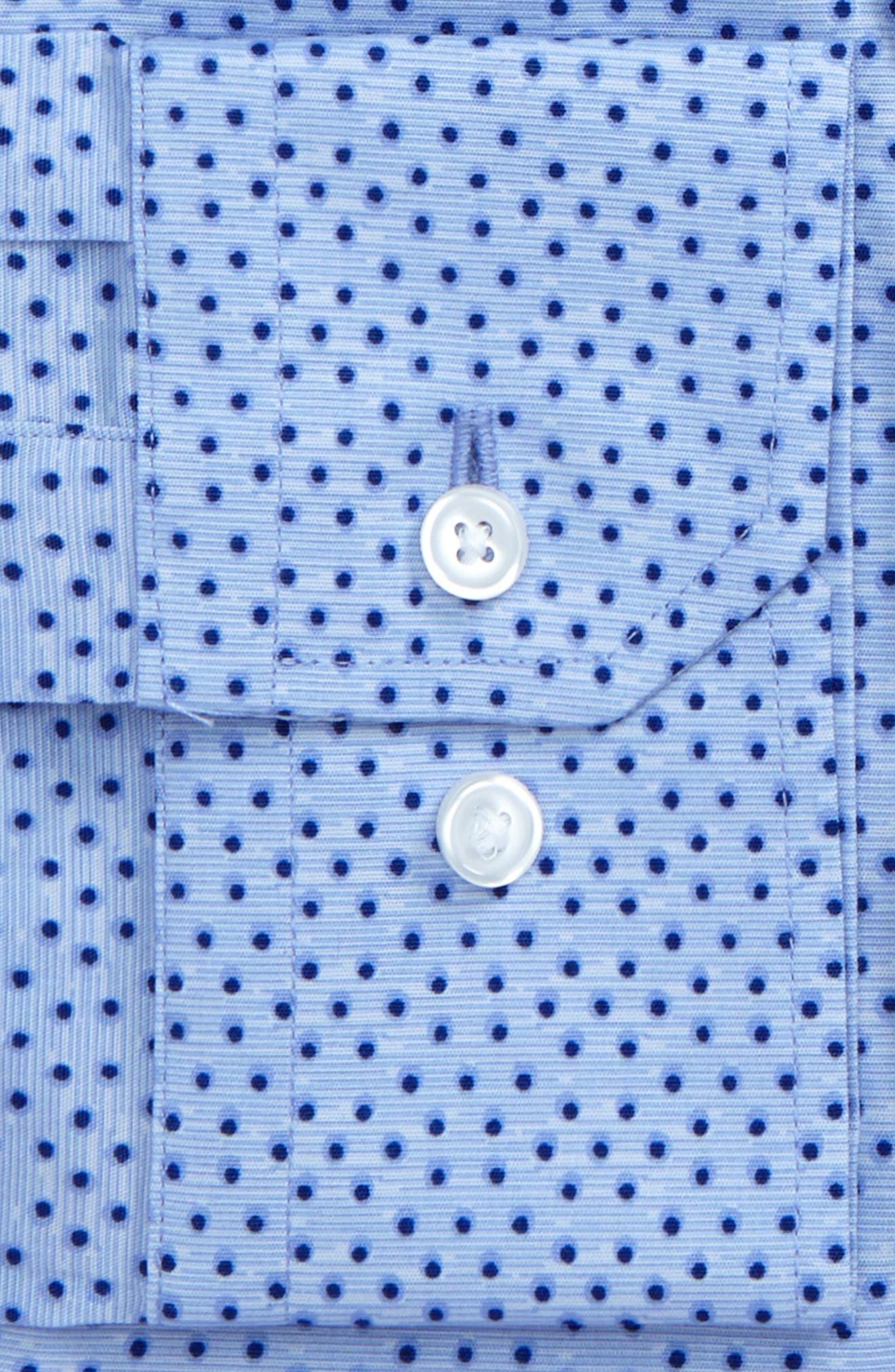 Alternate Image 2  - Calibrate Trim Fit Dot Print Dress Shirt